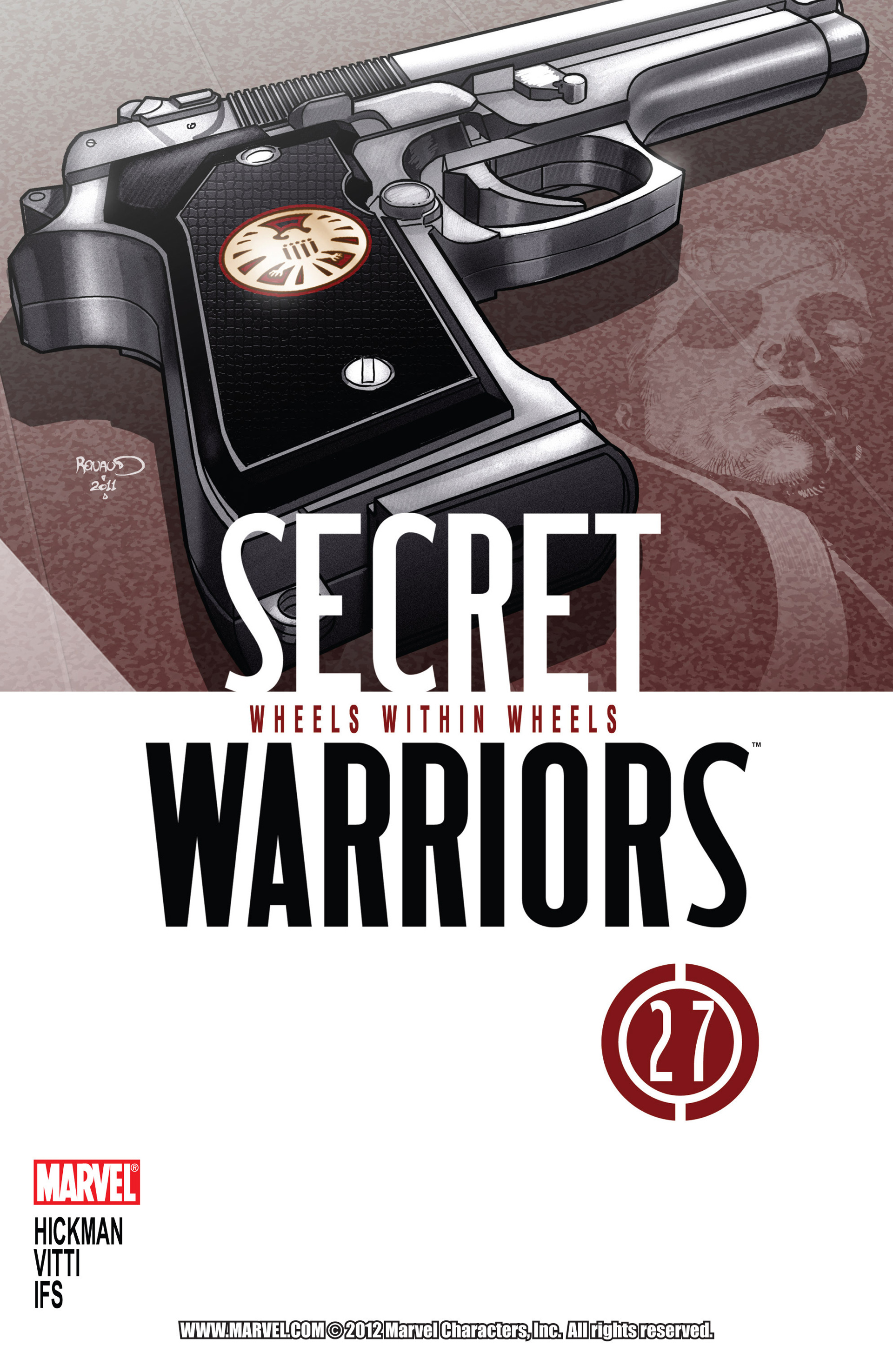 Read online Secret Warriors comic -  Issue #27 - 2