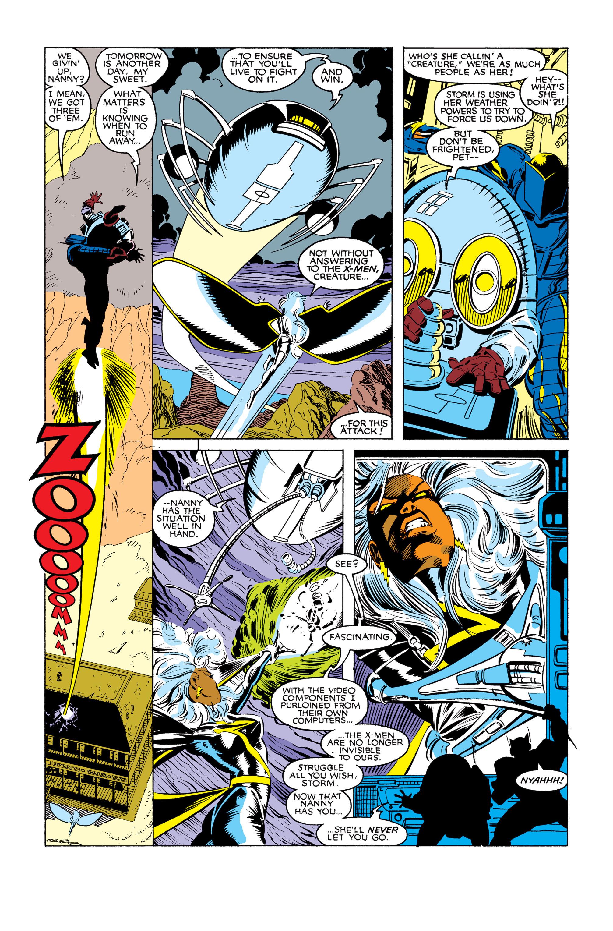 Read online Uncanny X-Men (1963) comic -  Issue #248 - 21