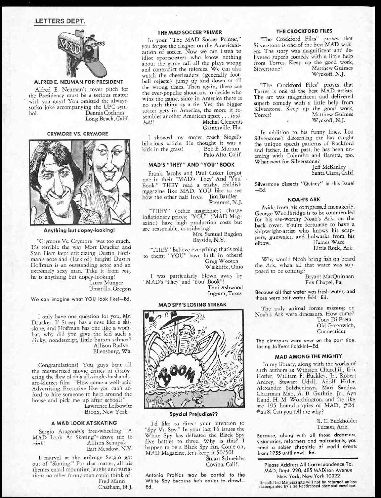 MAD issue 220 - Page 4