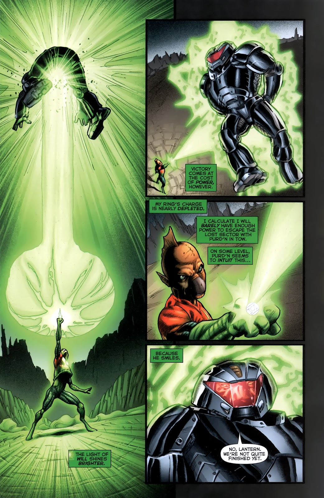 Read online Green Lantern Movie Prequel: Tomar-Re comic -  Issue # Full - 17
