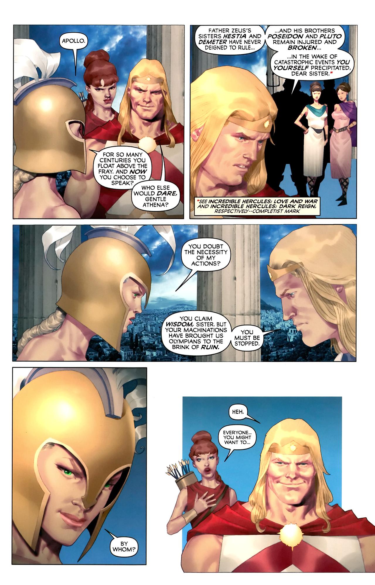 Read online Hercules: Fall of an Avenger comic -  Issue #2 - 5