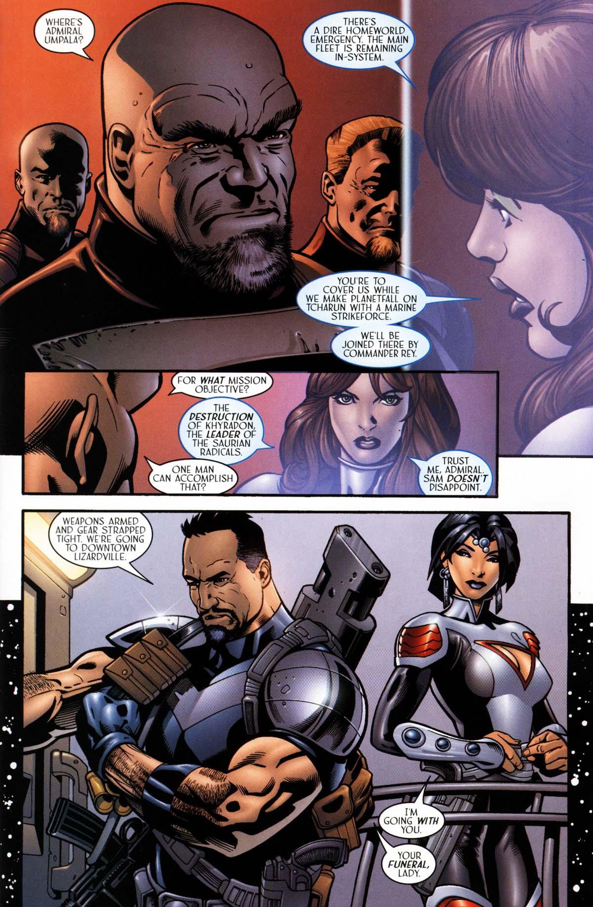 Read online Sigil (2000) comic -  Issue #26 - 15