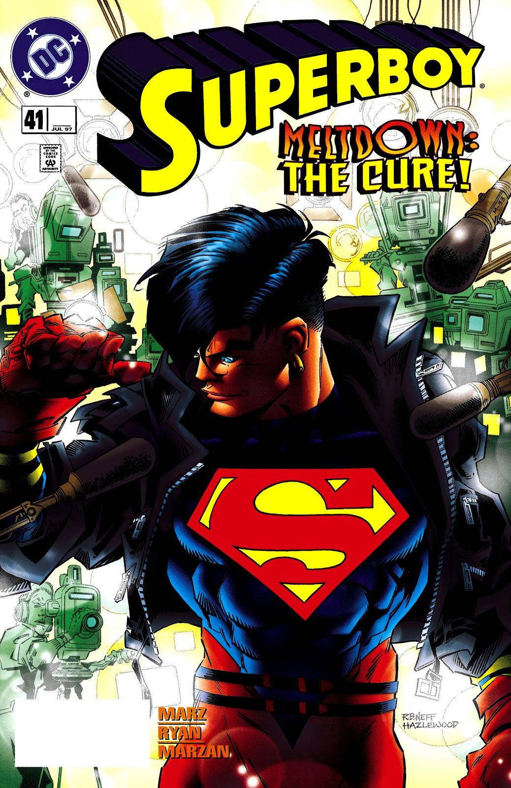 Superboy (1994) 41 Page 1