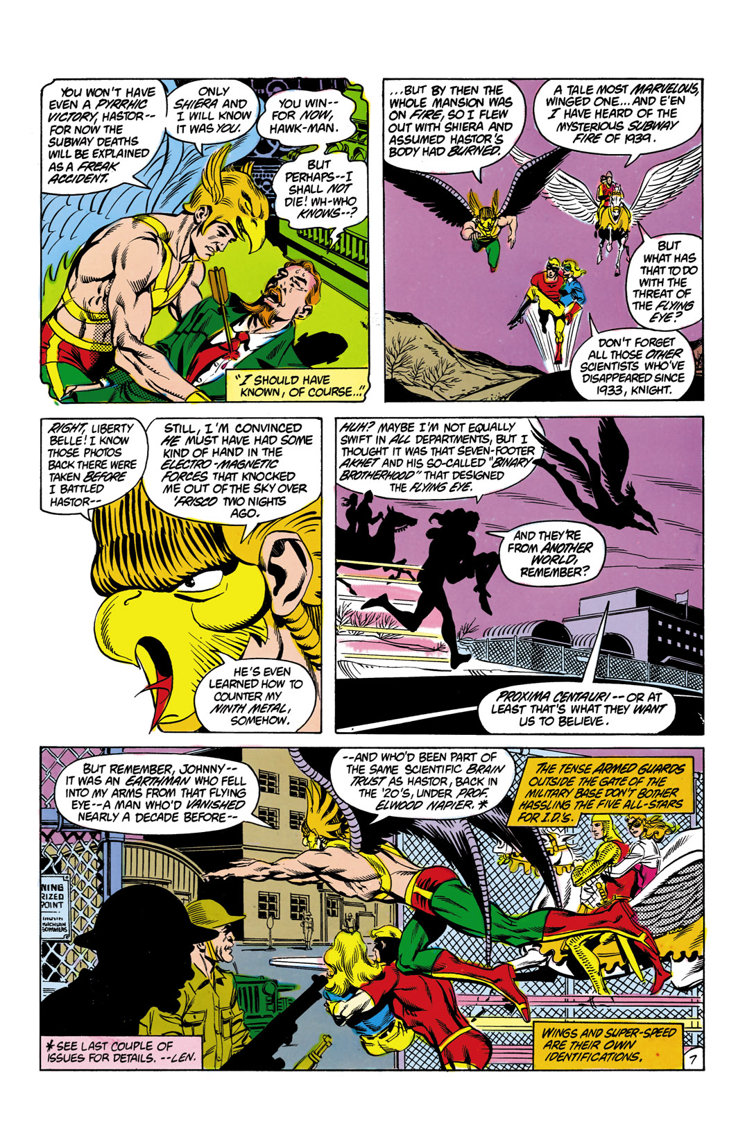Read online All-Star Squadron comic -  Issue #12 - 8