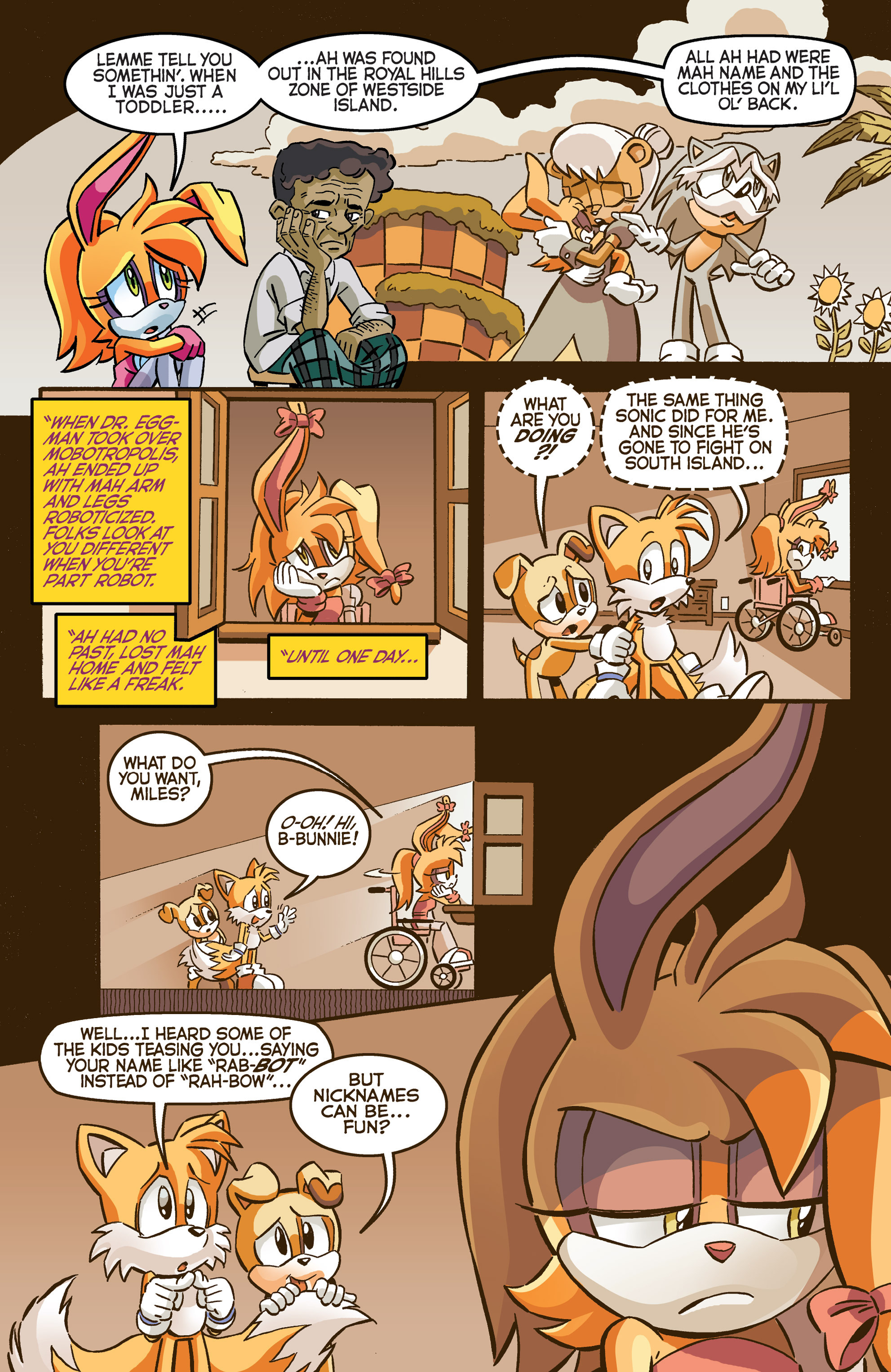 Read online Sonic The Hedgehog comic -  Issue #281 - 17