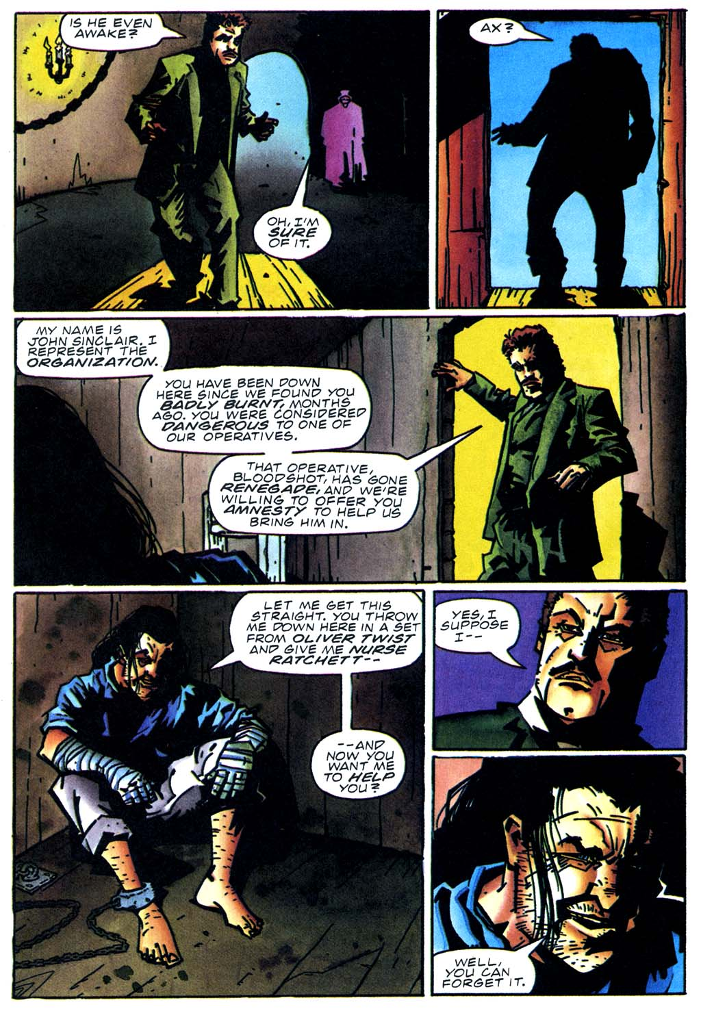 Read online Secret Weapons comic -  Issue #20 - 13
