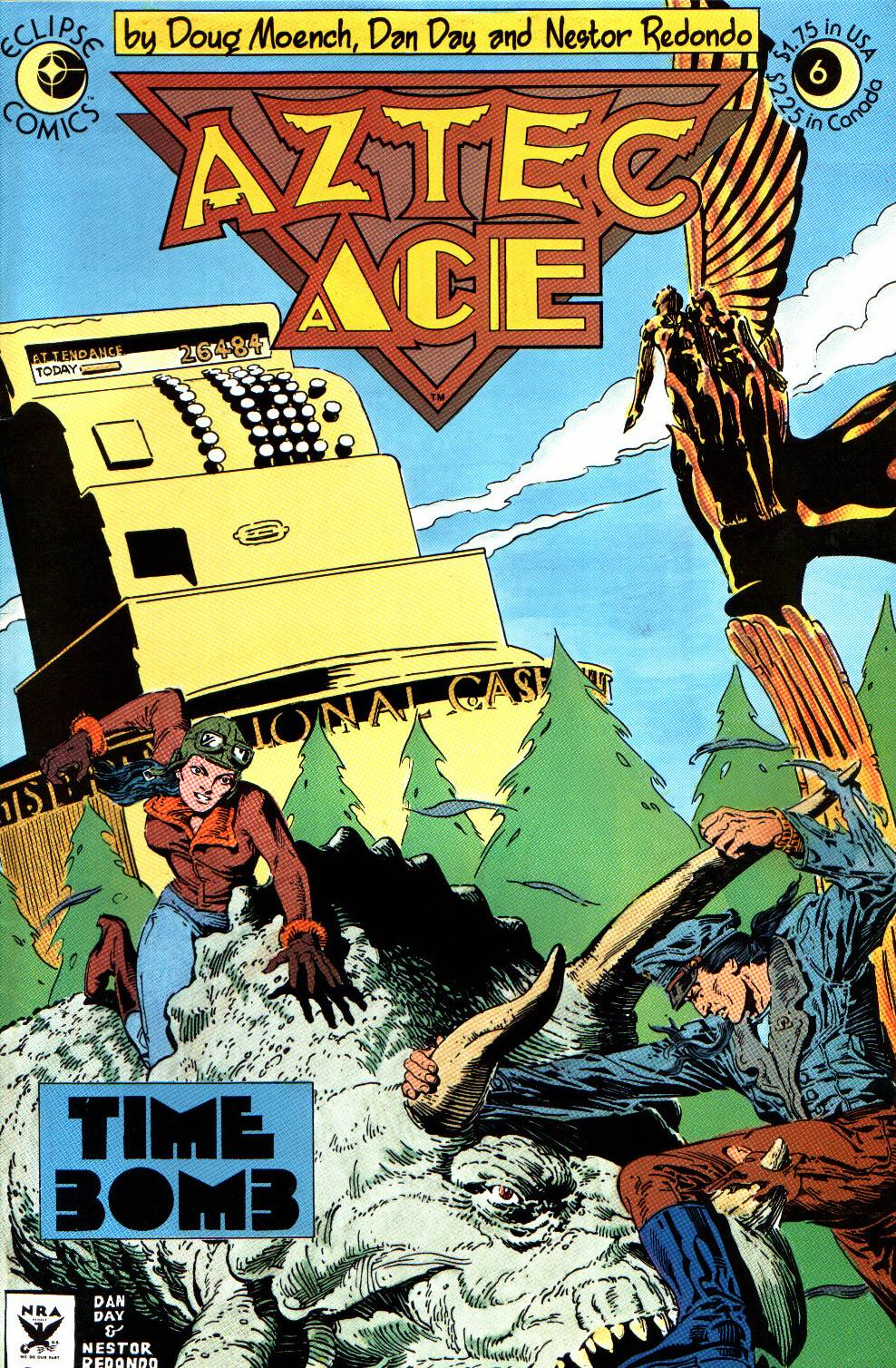 Read online Aztec Ace comic -  Issue #6 - 1