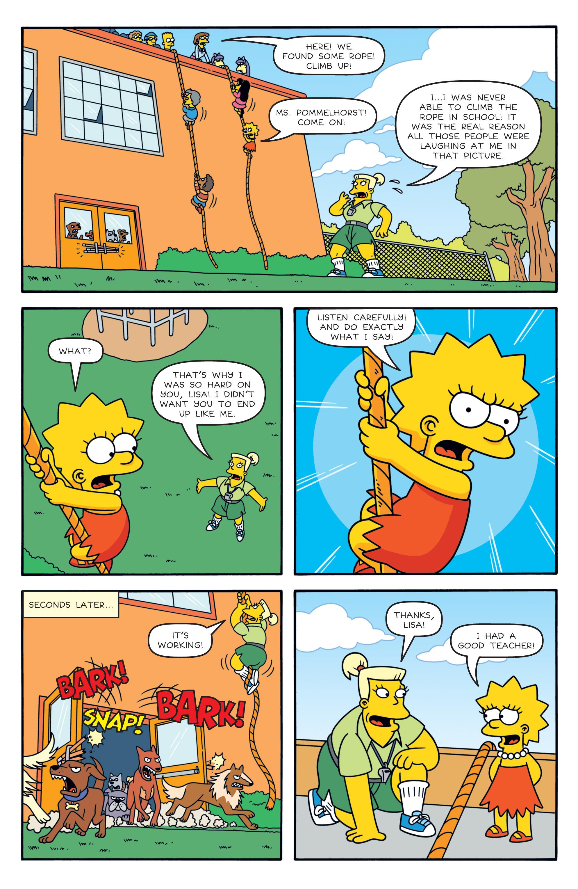 Read online Simpsons Comics comic -  Issue #194 - 21