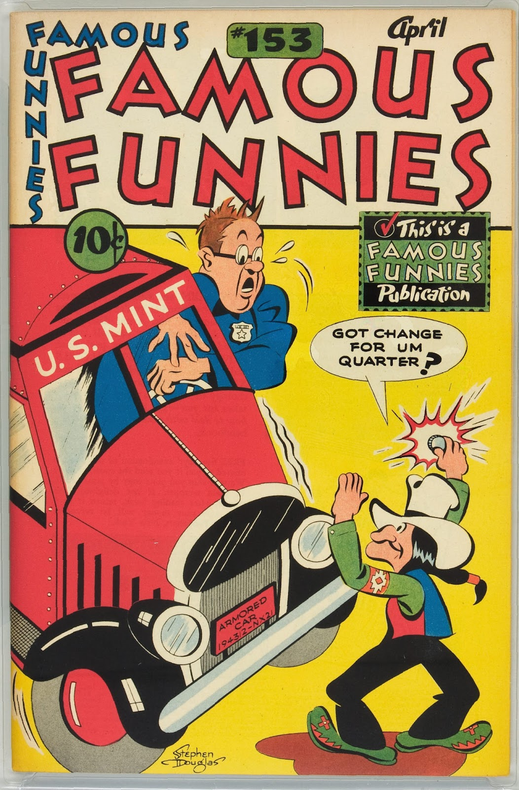 Read online Famous Funnies comic -  Issue #153 - 1