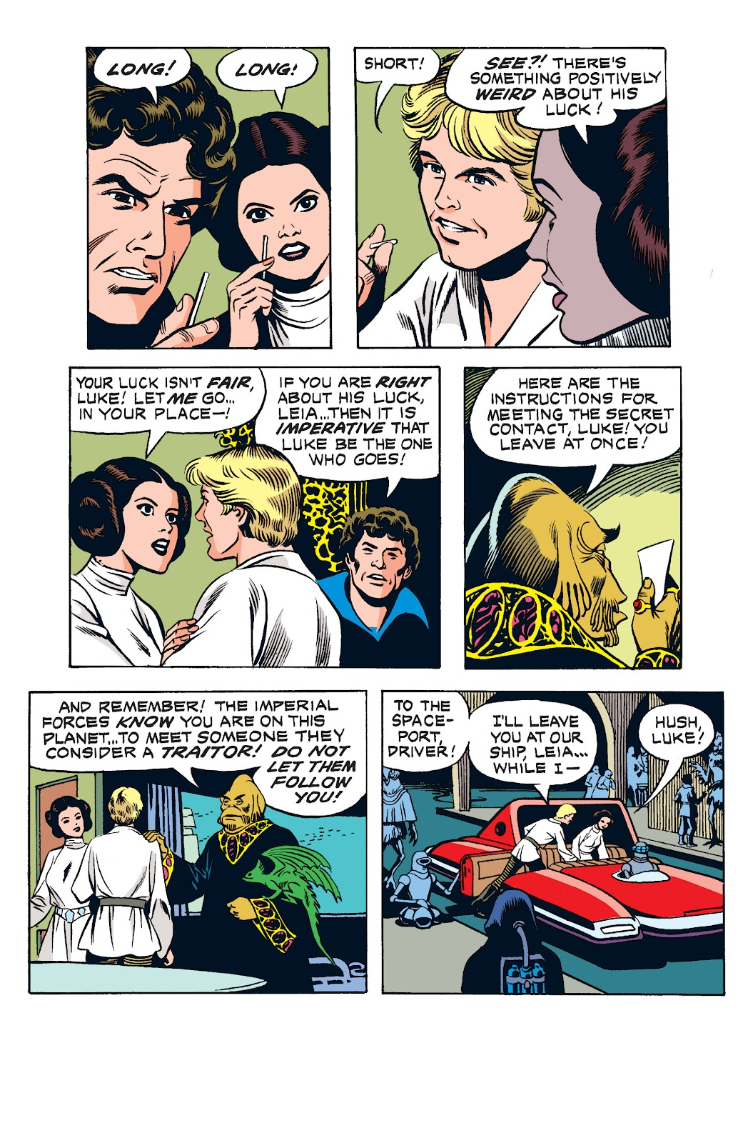 Read online Star Wars Legends: The Newspaper Strips - Epic Collection comic -  Issue # TPB (Part 1) - 95