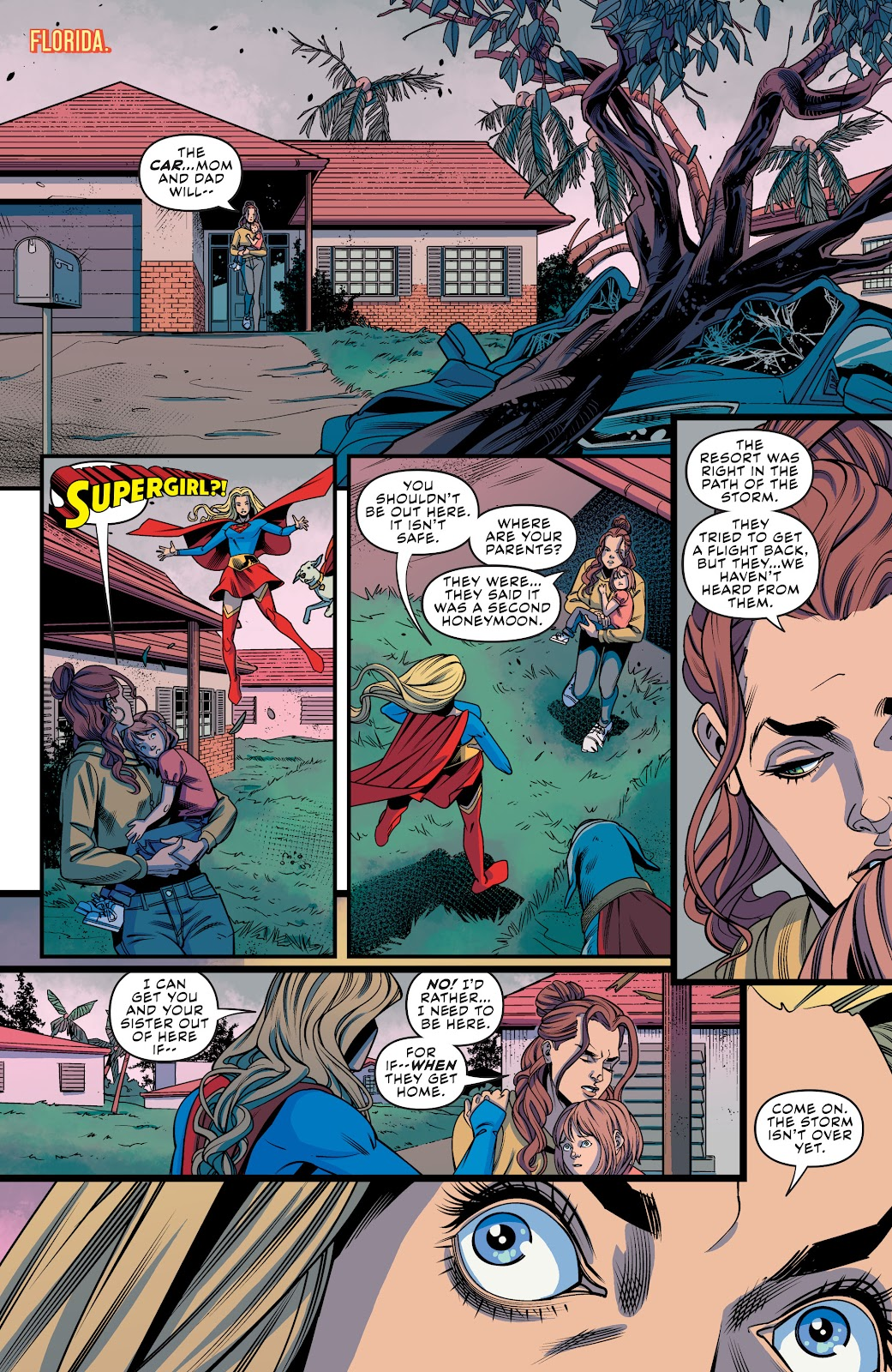 Read online Supergirl (2016) comic -  Issue #41 - 14