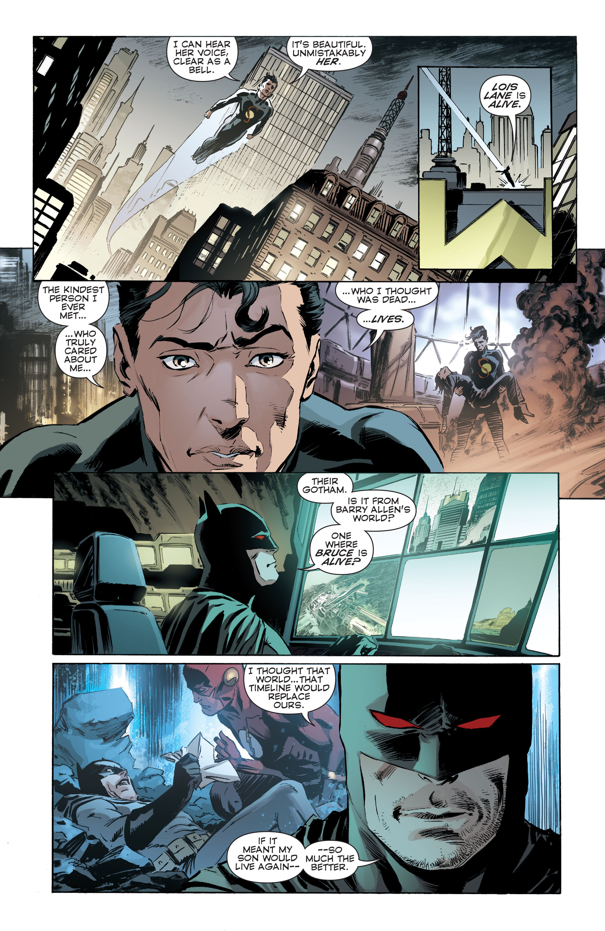 Read online Convergence Superman comic -  Issue #1 - 22