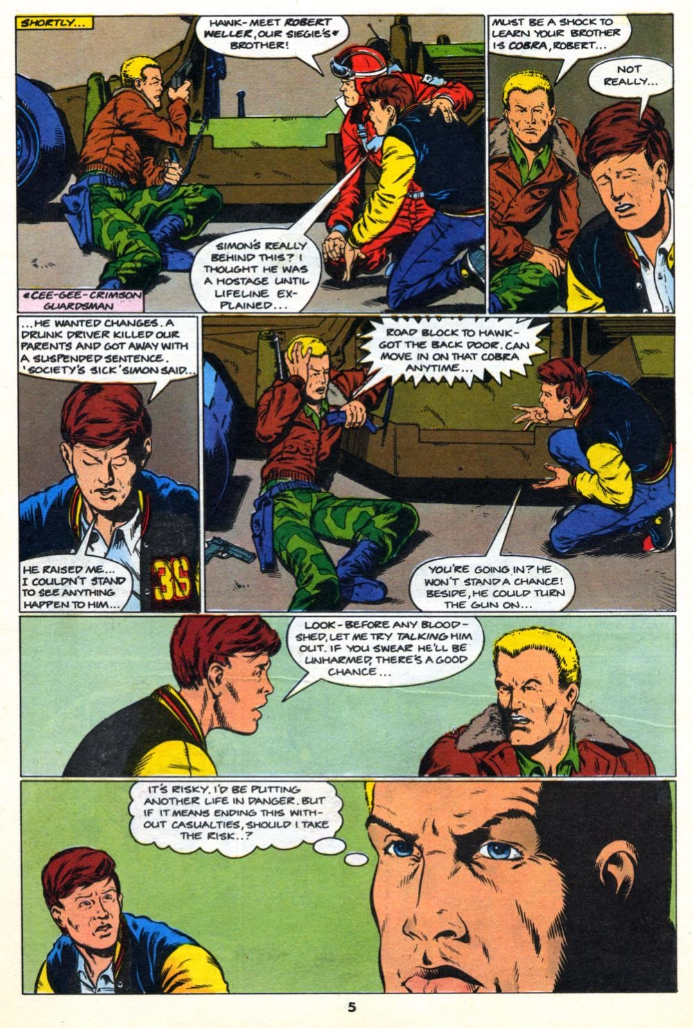 G.I. Joe European Missions issue 10 - Page 5