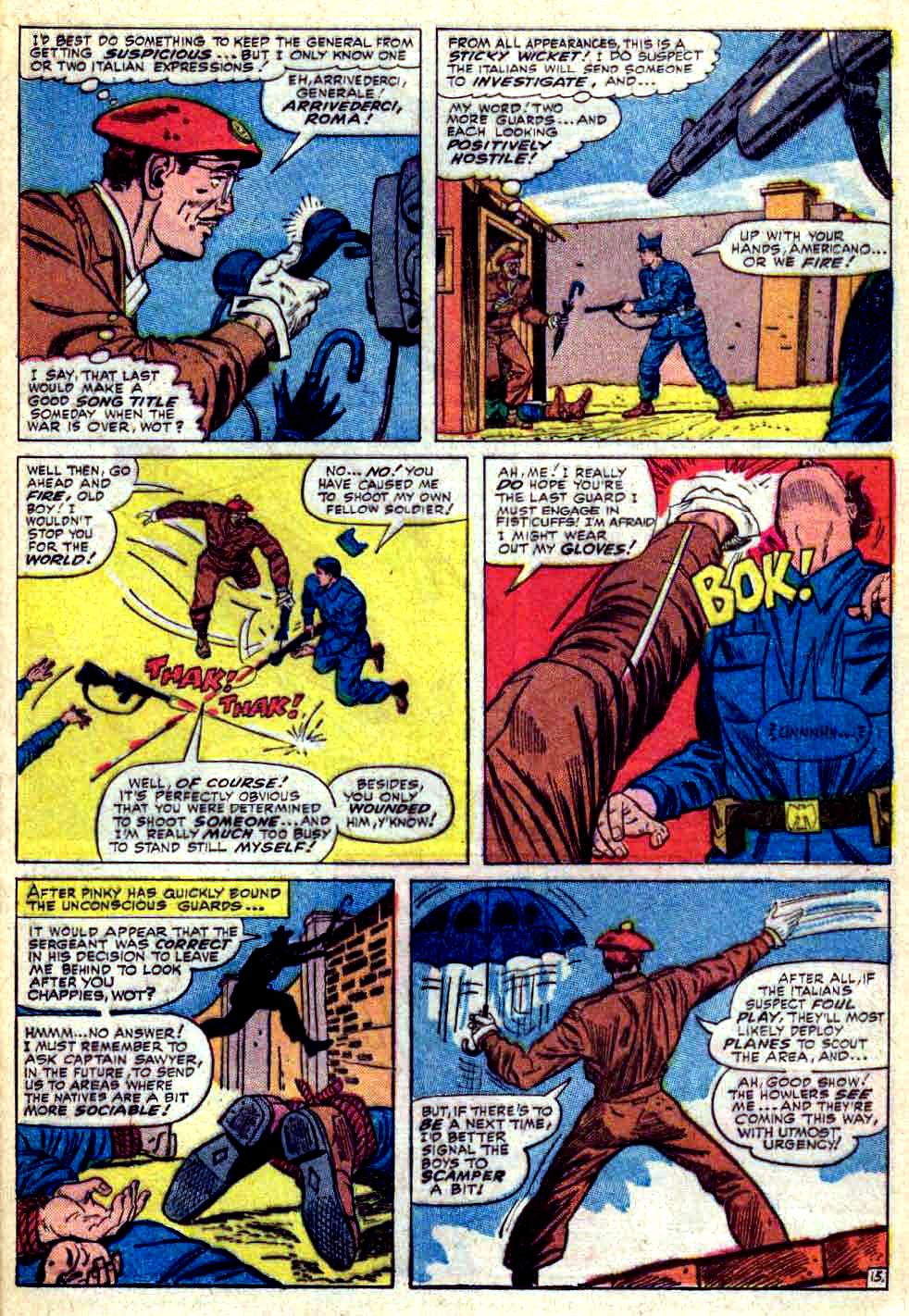 Read online Sgt. Fury comic -  Issue #30 - 21