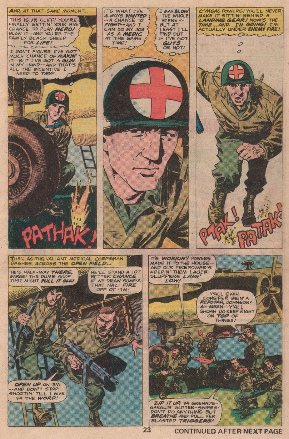Read online Sgt. Fury comic -  Issue #141 - 25