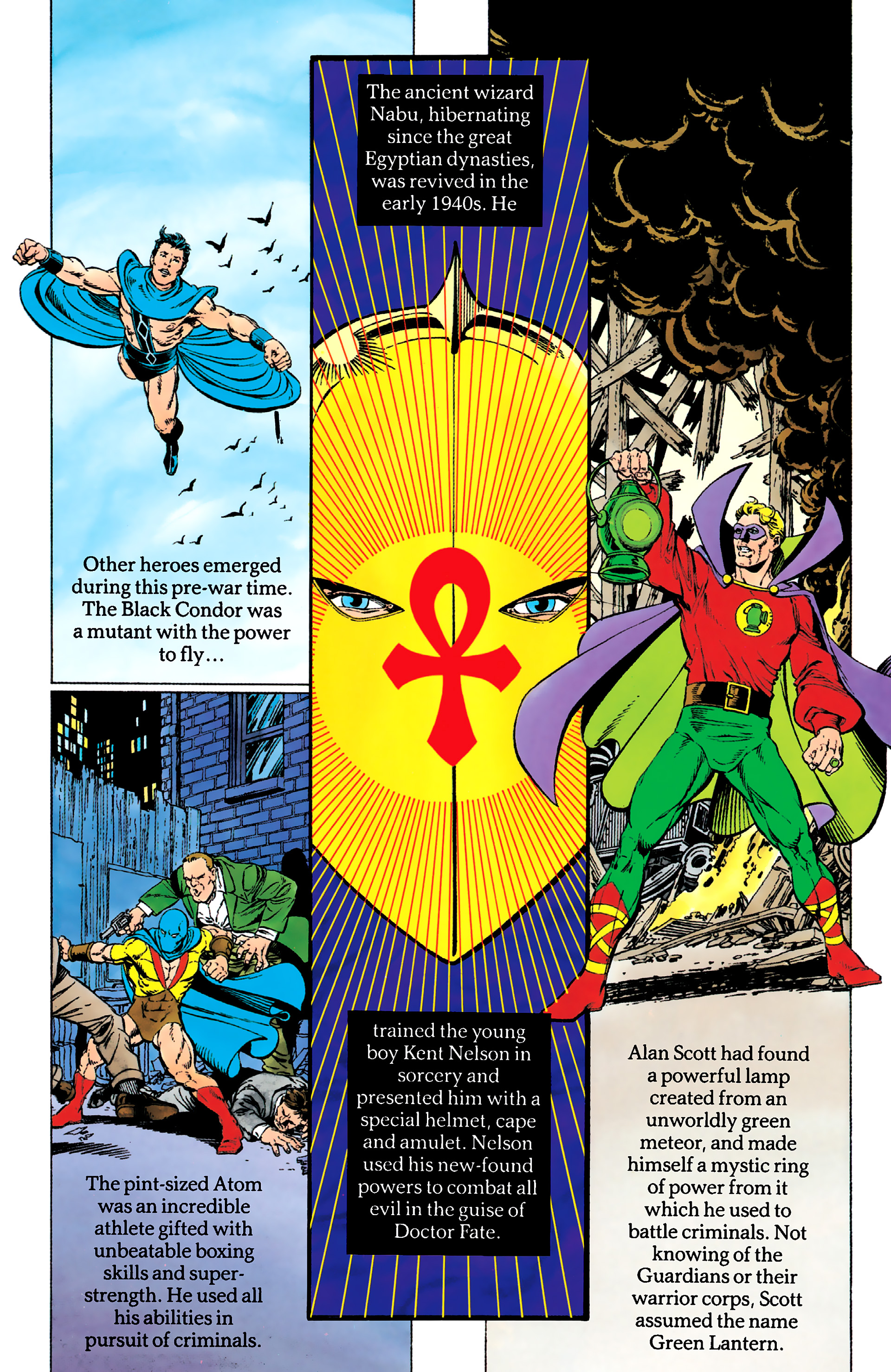 Read online History of the DC Universe comic -  Issue #1 - 37