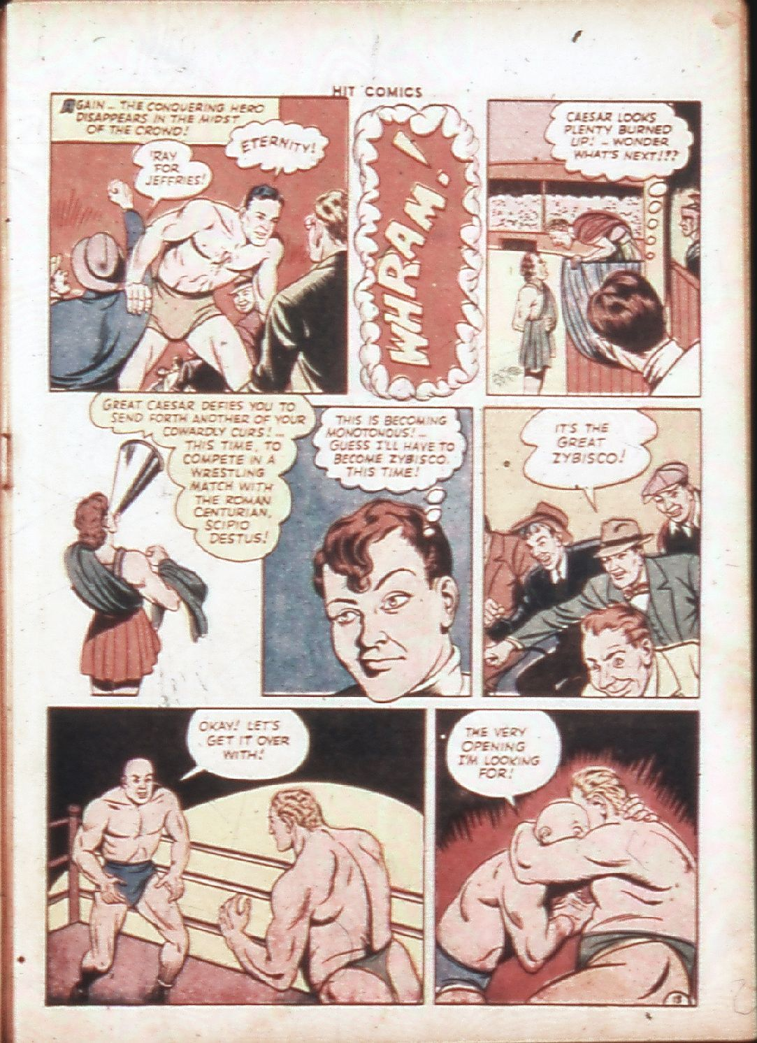 Read online Hit Comics comic -  Issue #30 - 16