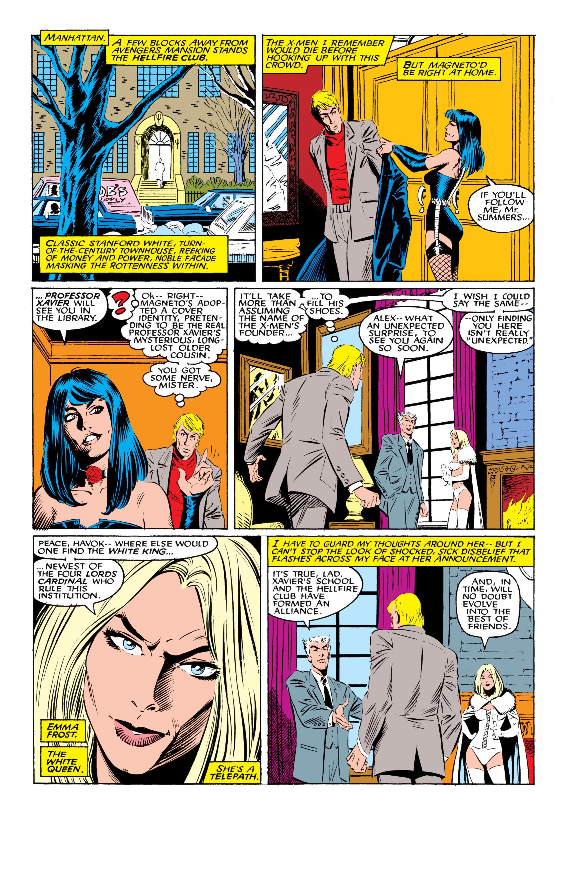 Read online Uncanny X-Men (1963) comic -  Issue #219 - 11