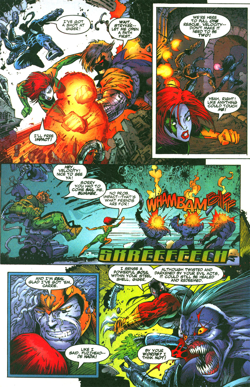 Read online Shattered Image comic -  Issue #1 - 16