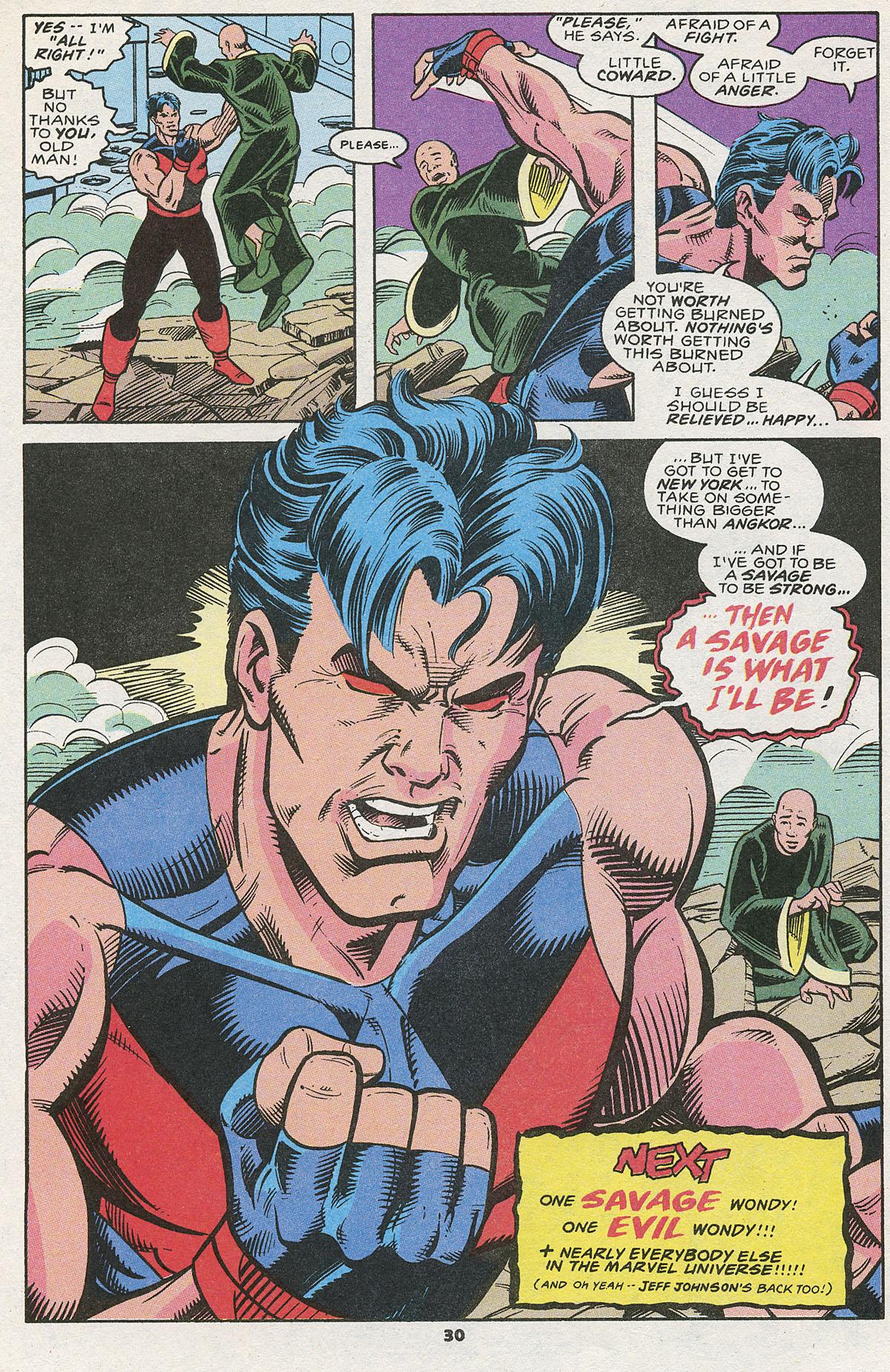 Read online Wonder Man (1991) comic -  Issue #12 - 23