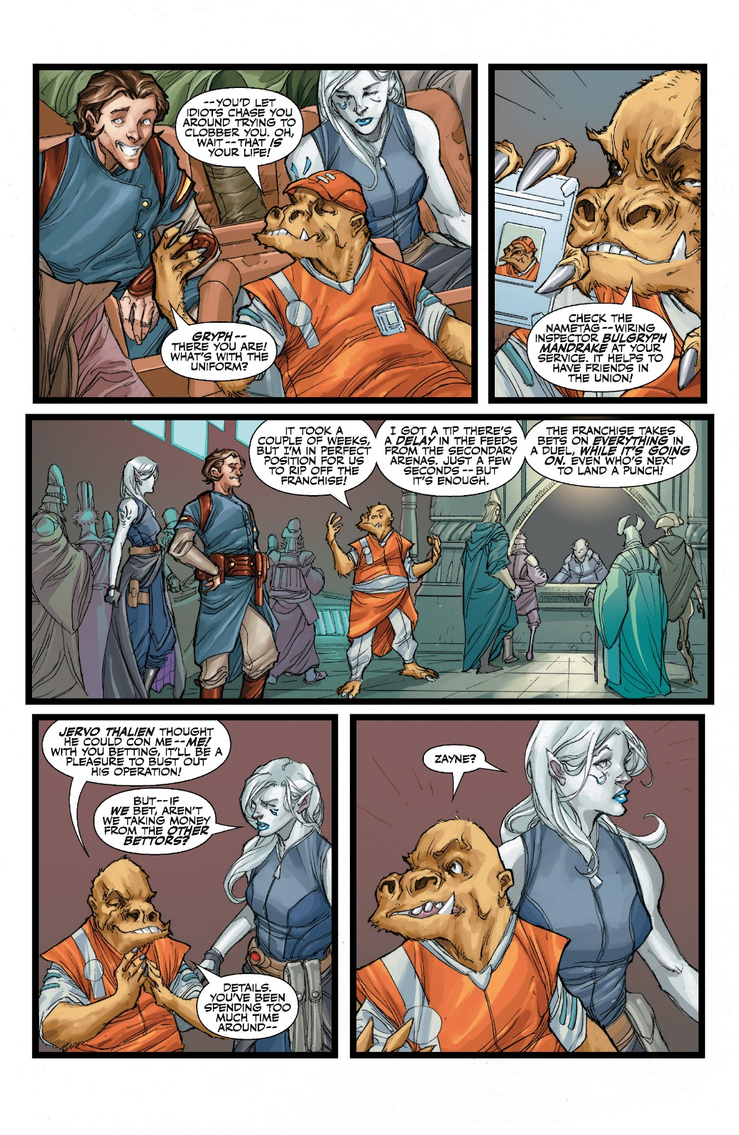 Read online Star Wars Legends: The Old Republic - Epic Collection comic -  Issue # TPB 3 (Part 1) - 40