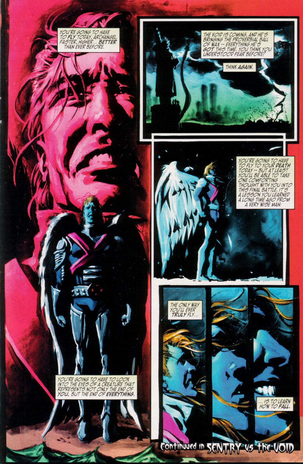 Read online Sentry/X-Men comic -  Issue # Full - 32