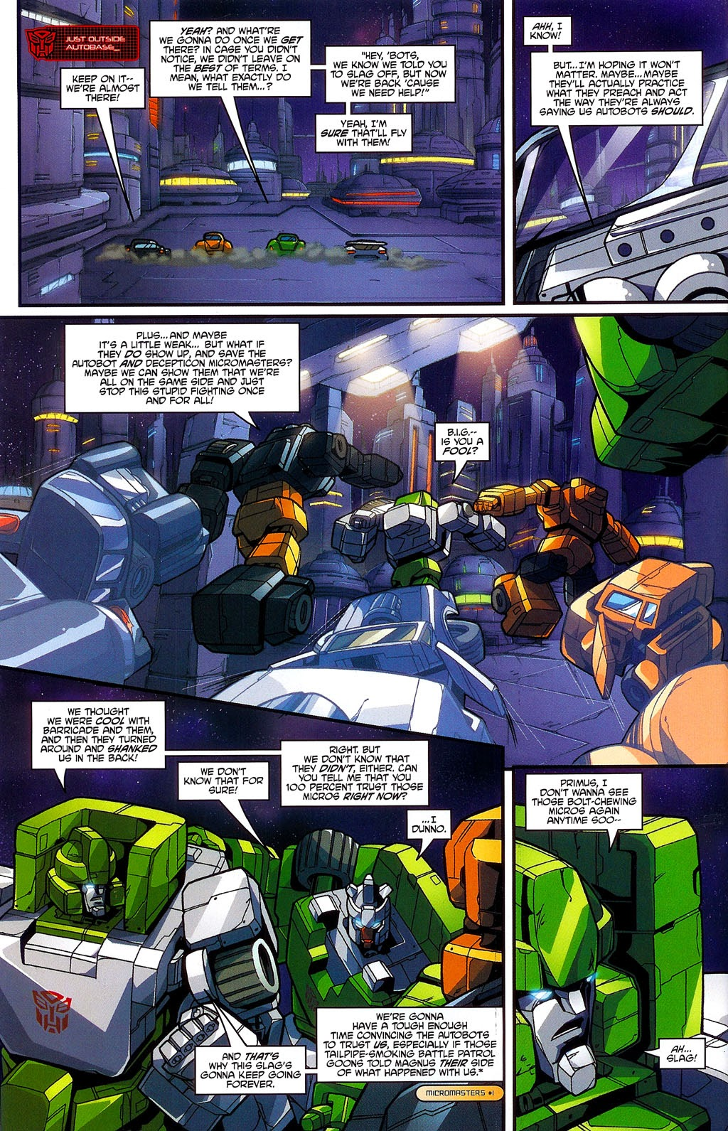 Read online Transformers: Micromasters comic -  Issue #3 - 14