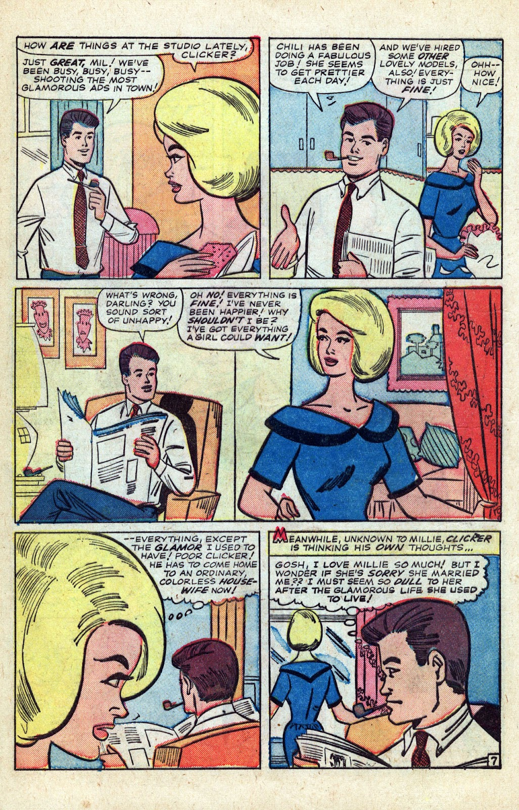 Read online Millie the Model comic -  Issue # Annual 3 - 64