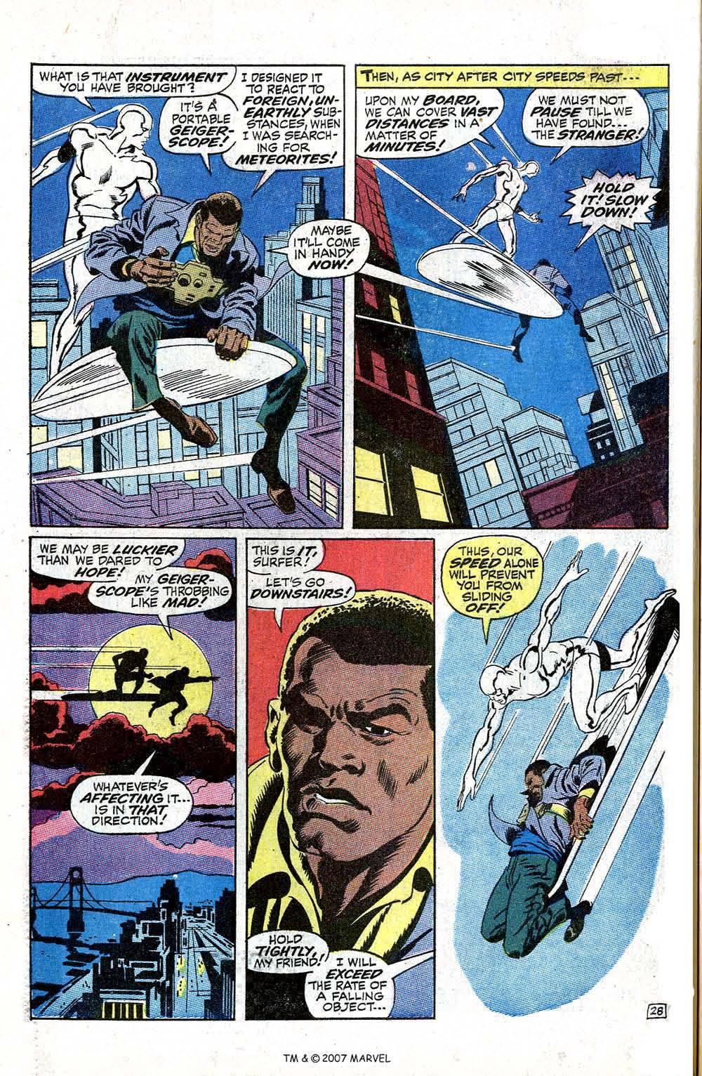 Silver Surfer (1968) issue 5 - Page 34