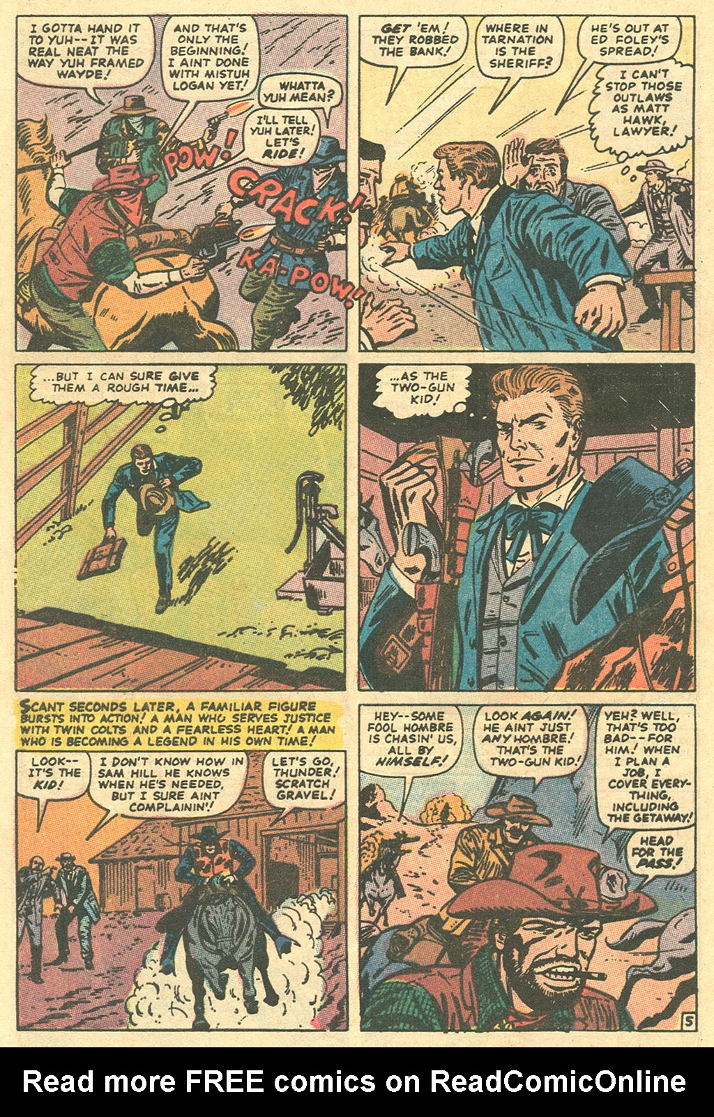 Read online Two-Gun Kid comic -  Issue #96 - 8