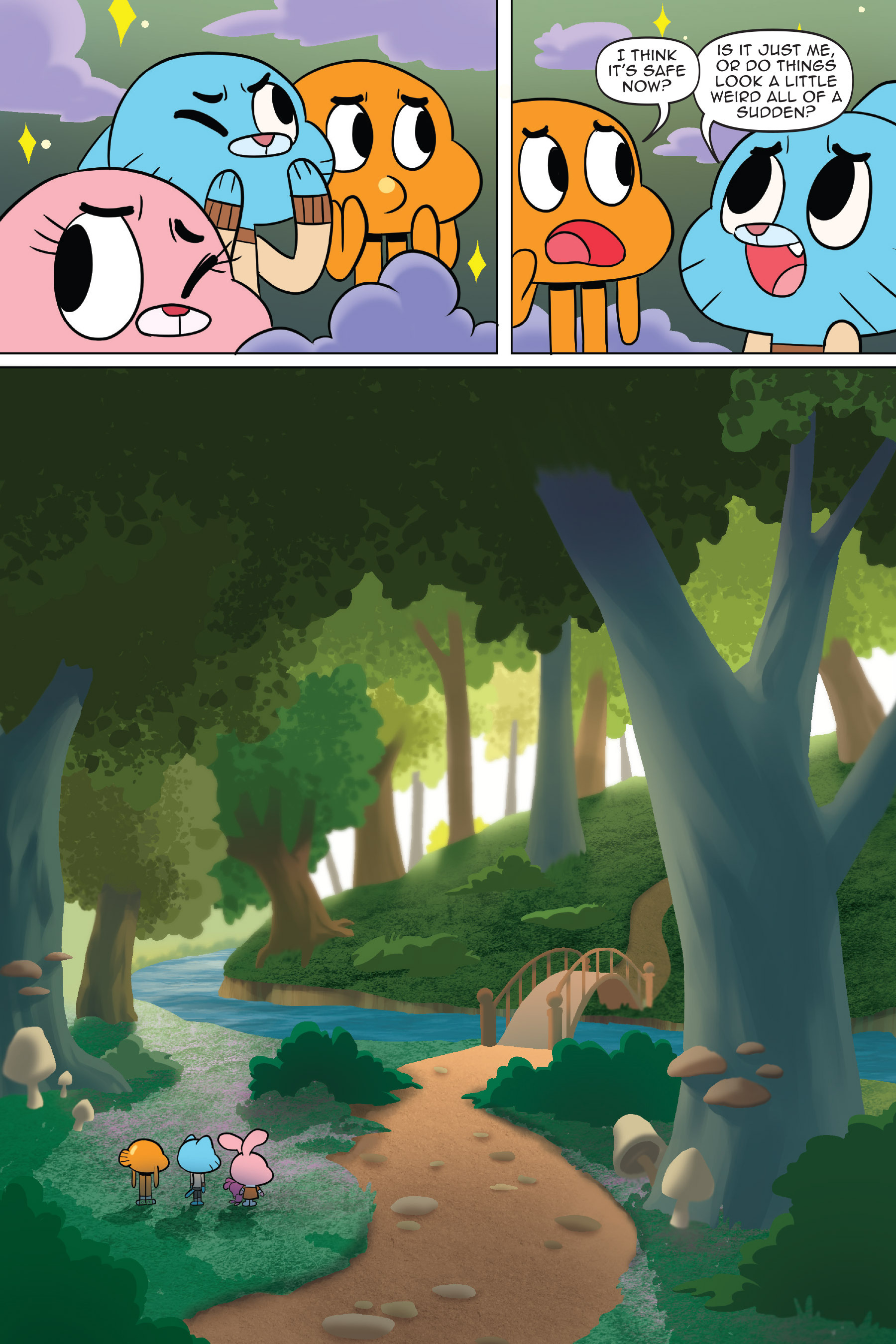 Read online The Amazing World of Gumball: Fairy Tale Trouble comic -  Issue # Full - 30