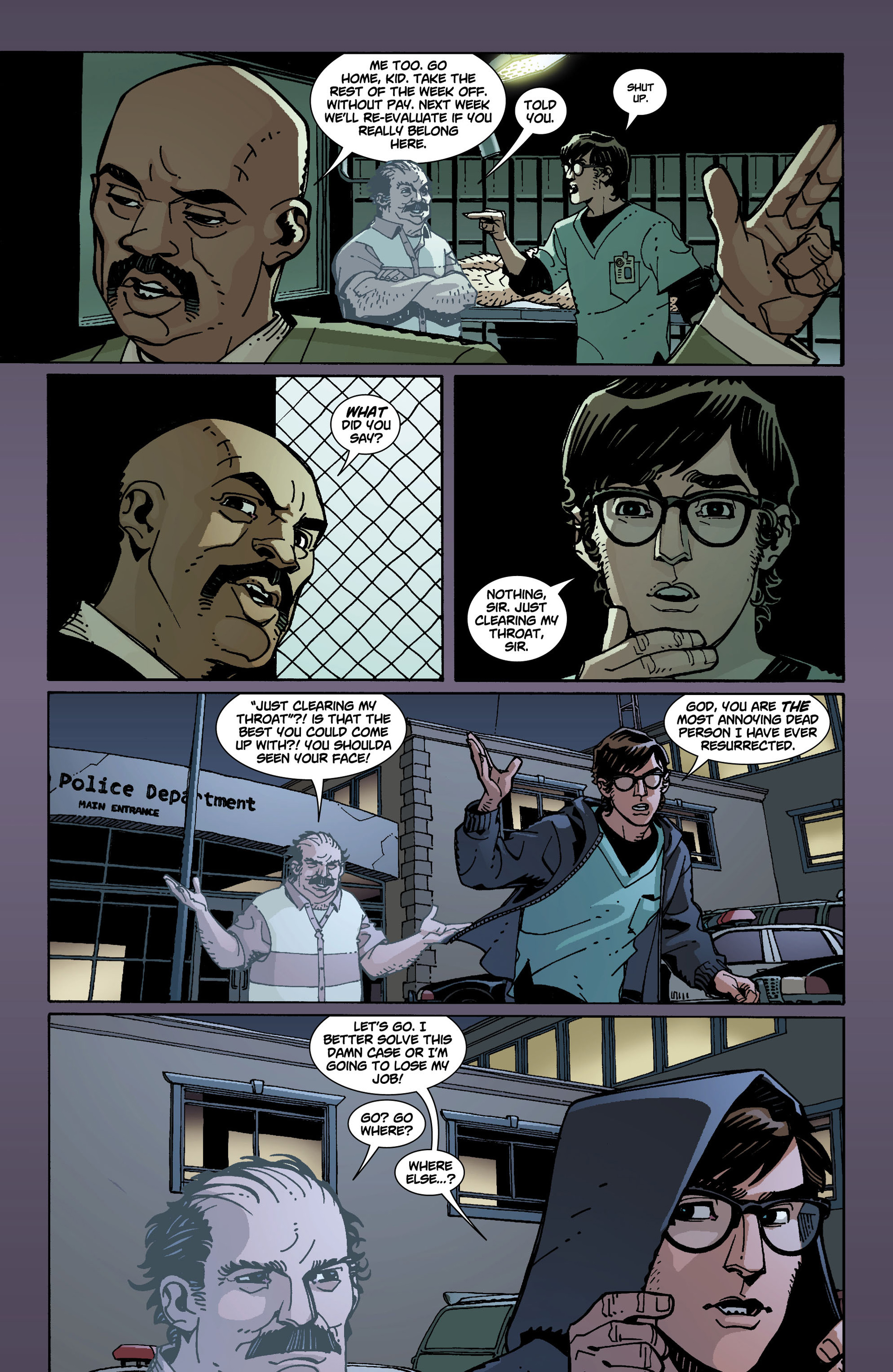 Read online National Comics: Eternity comic -  Issue # Full - 17