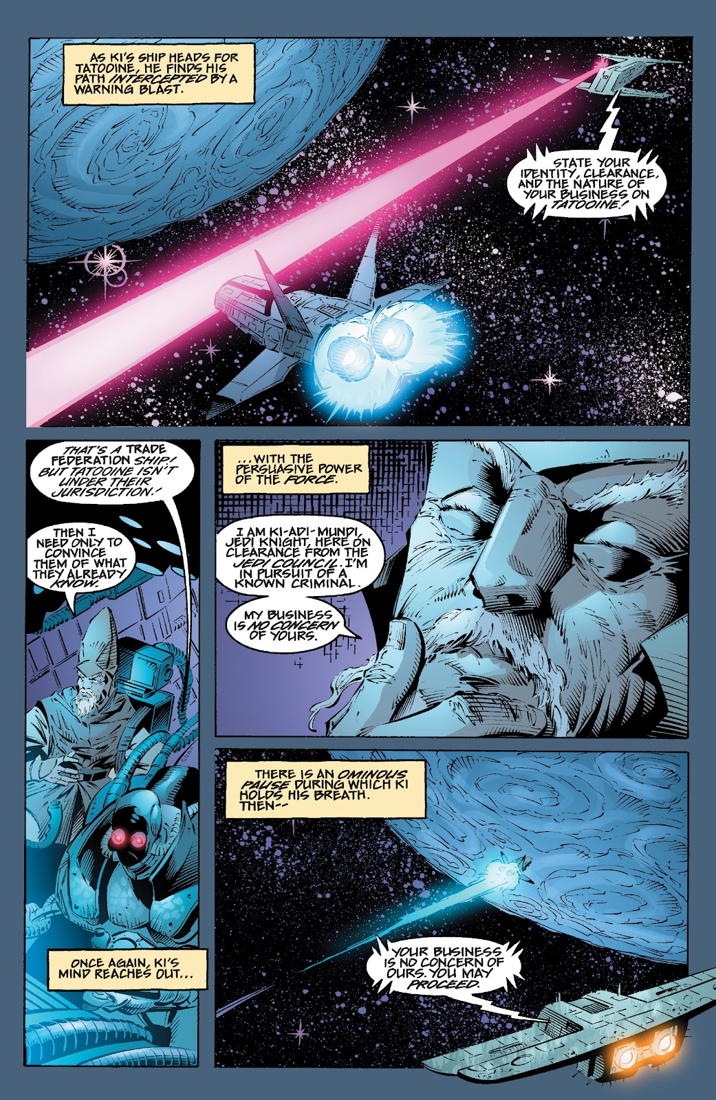 Read online Star Wars Legends: Rise of the Sith - Epic Collection comic -  Issue # TPB 2 (Part 2) - 3