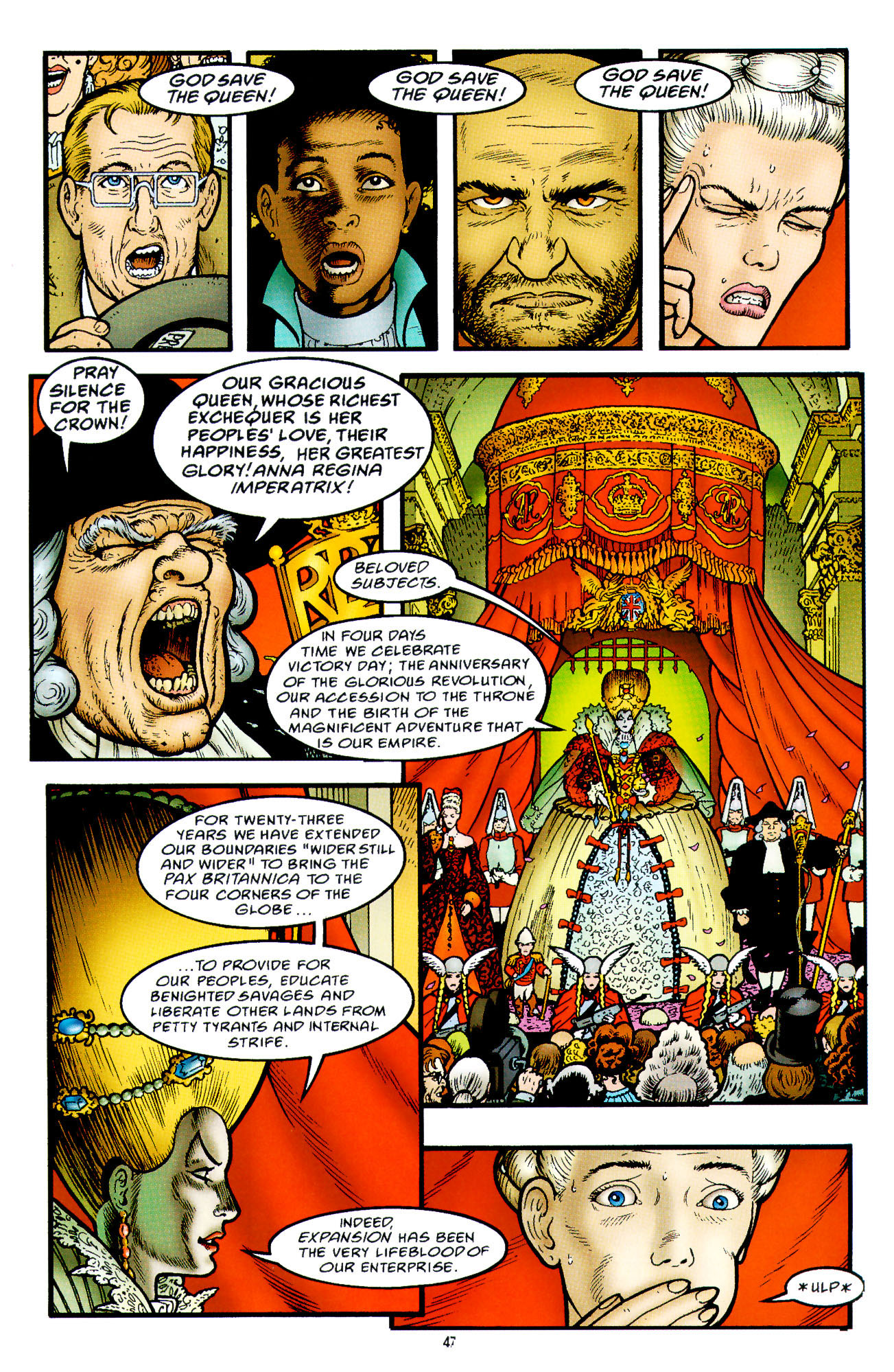 Read online Heart of Empire comic -  Issue #2 - 15