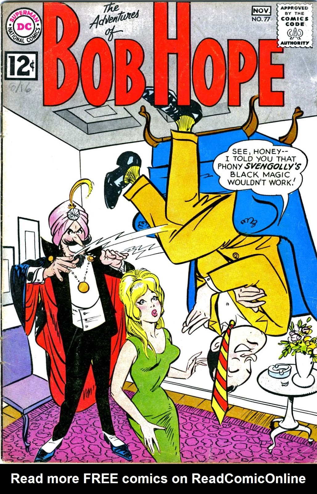 The Adventures of Bob Hope issue 77 - Page 1