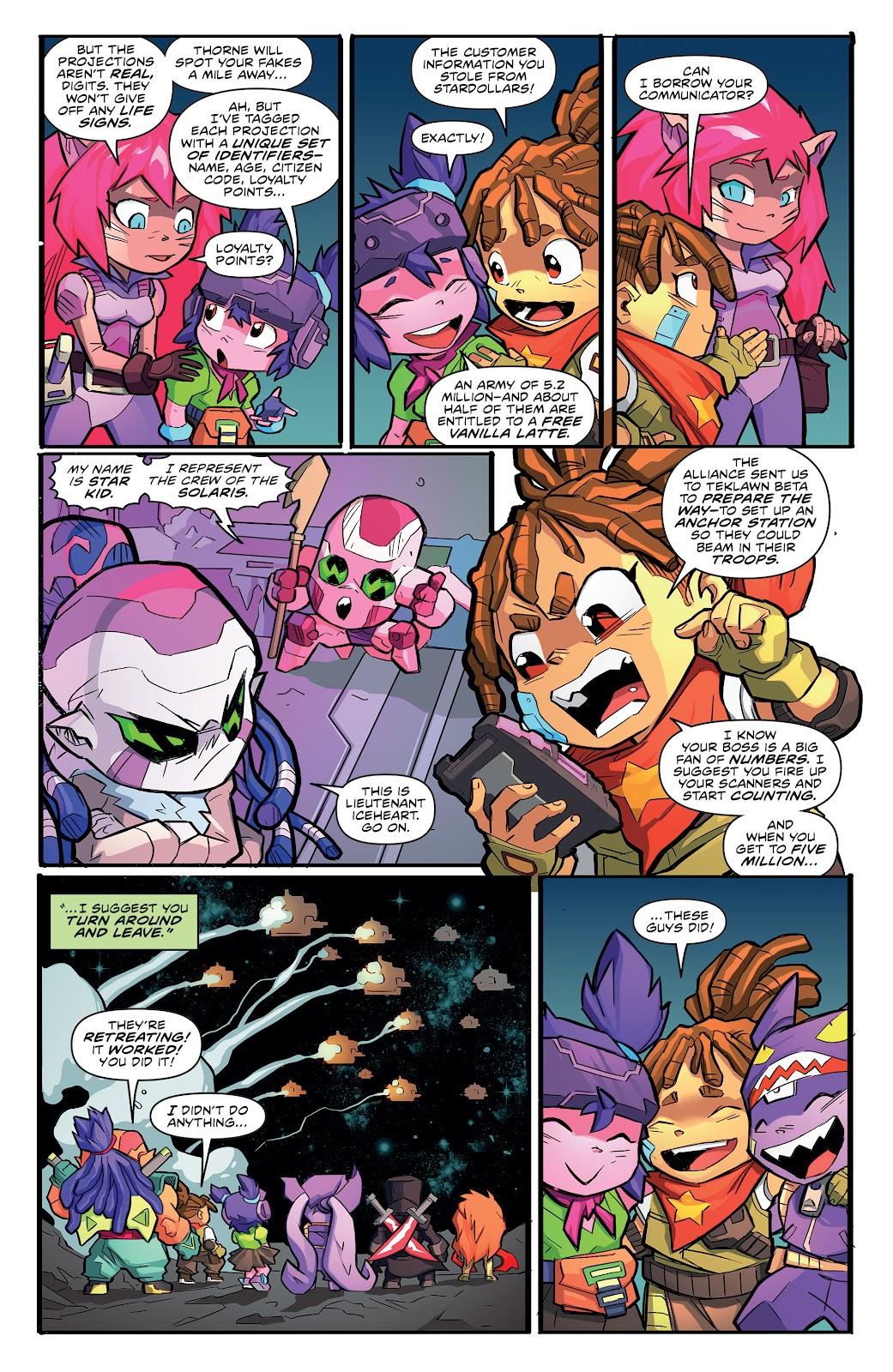 Read online Starcadia Quest comic -  Issue #3 - 21