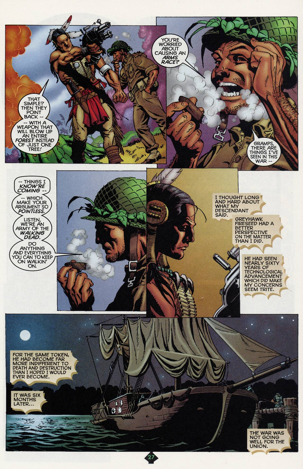 Read online Turok: Tales of the Lost Land comic -  Issue # Full - 24