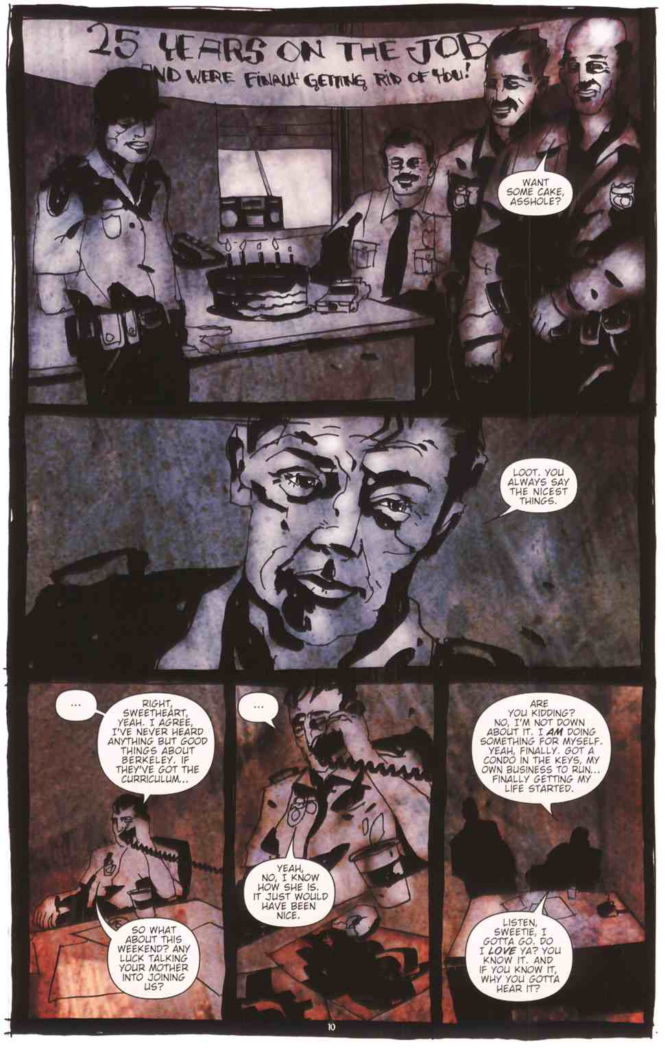 Read online Silent Hill: The Grinning Man comic -  Issue # Full - 12