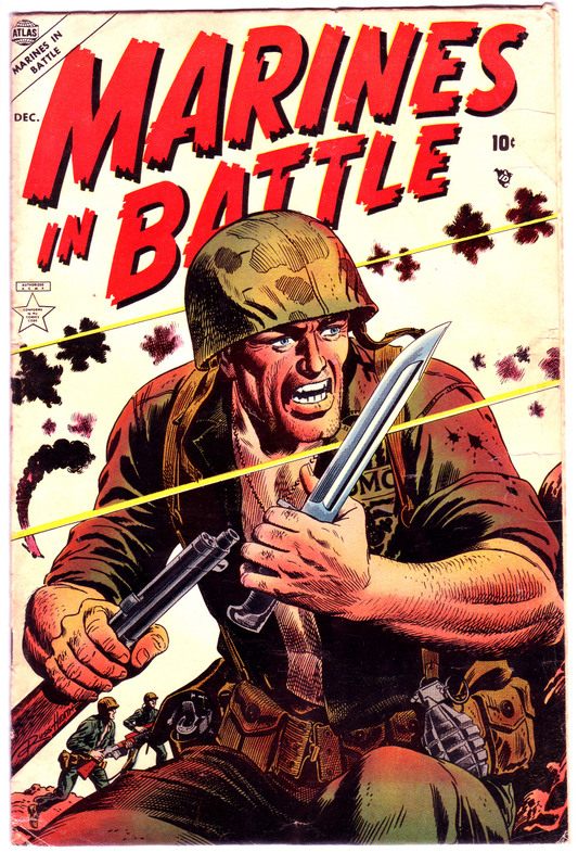 Marines in Battle 3 Page 1