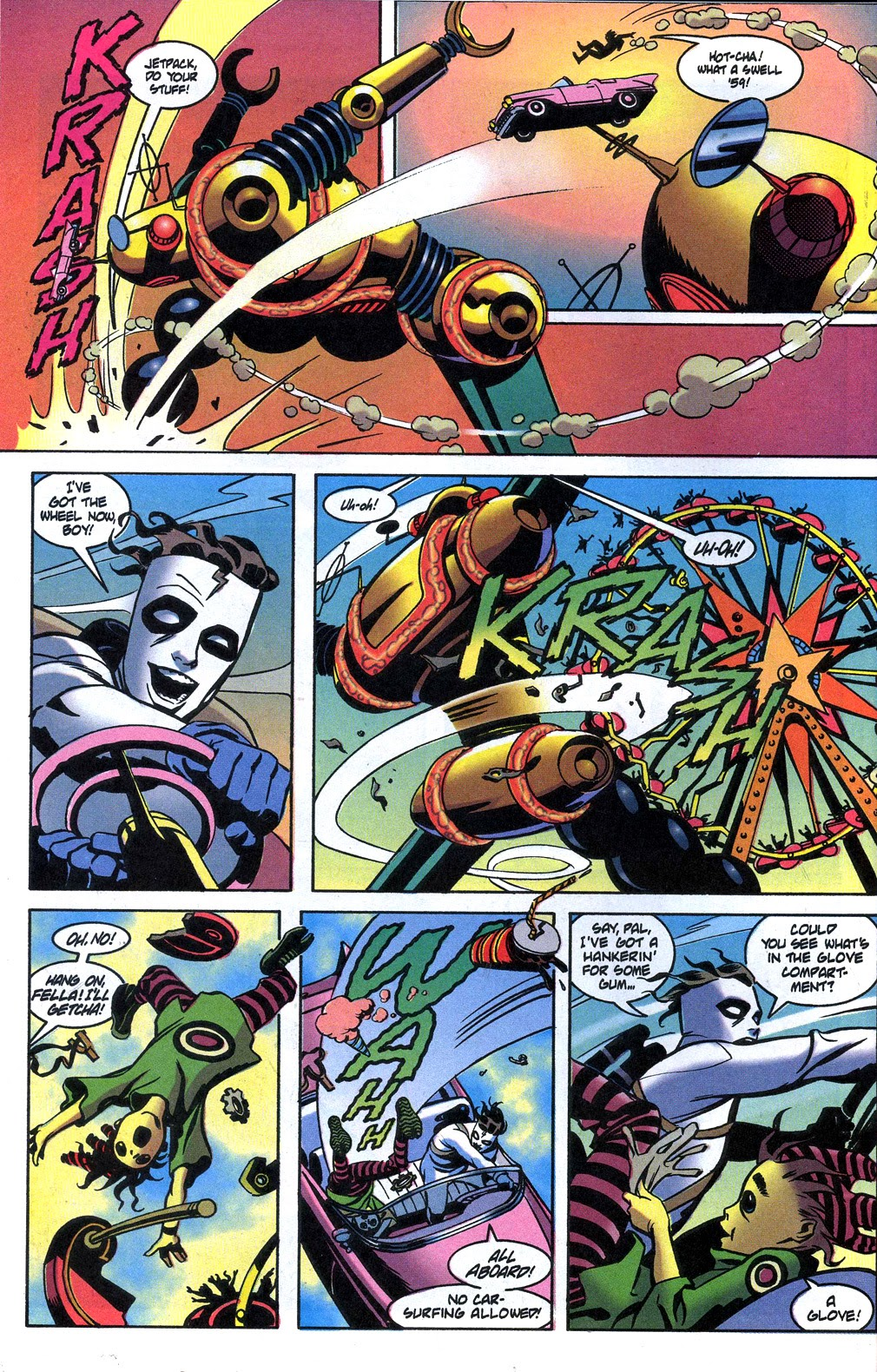 Read online Nexus Meets Madman comic -  Issue # Full - 16