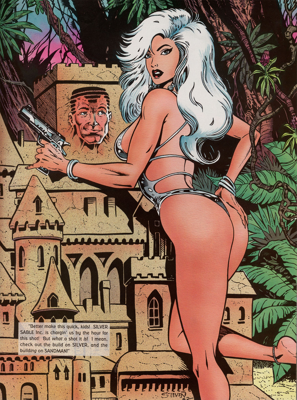 Read online Marvel Swimsuit Special comic -  Issue #2 - 10
