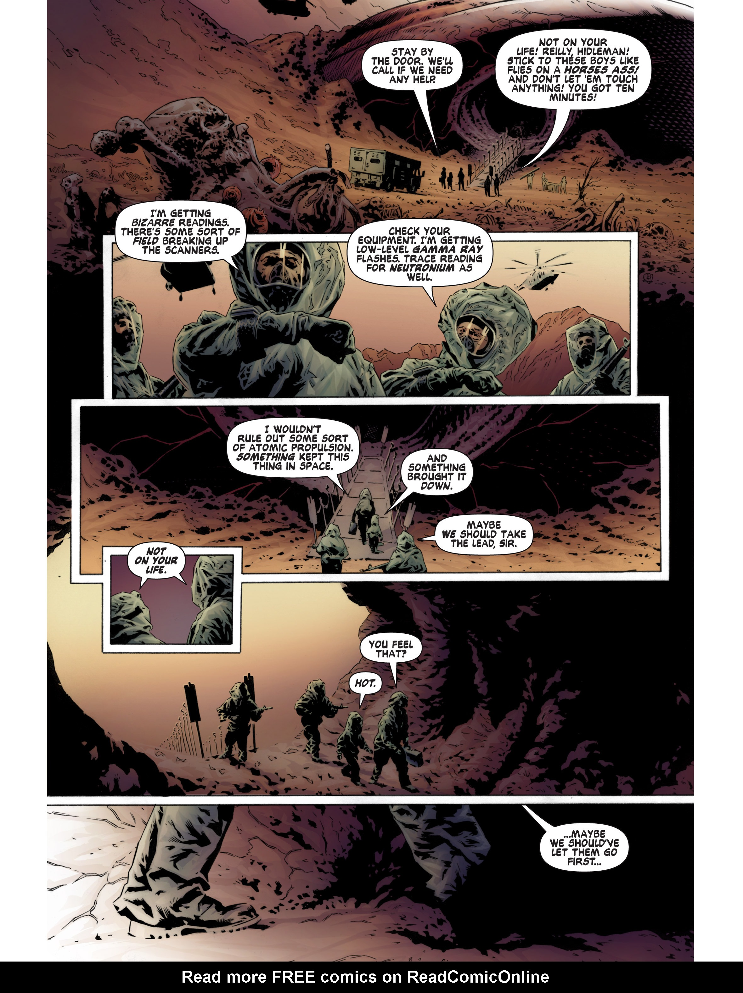 Read online Bad Planet comic -  Issue # TPB - 37