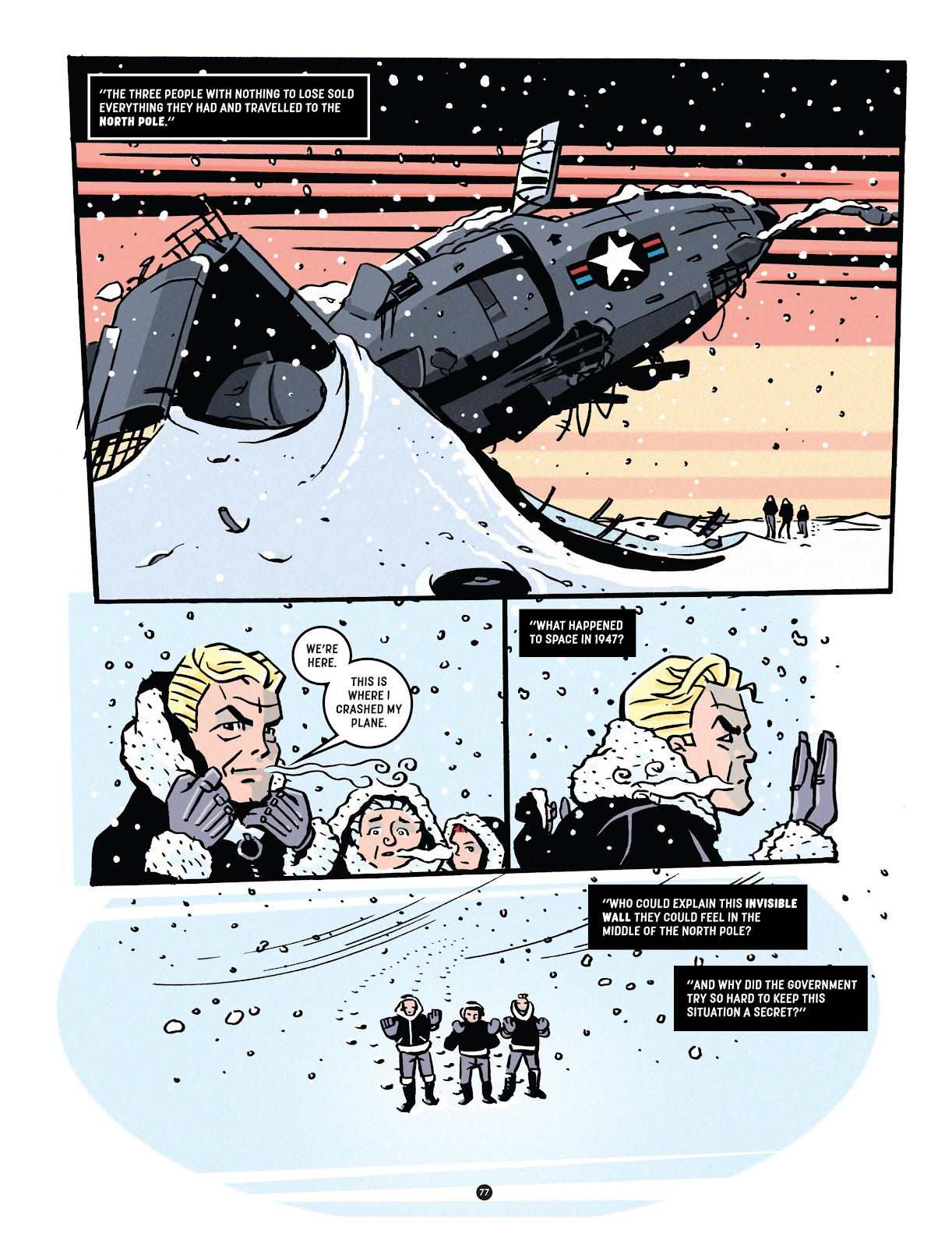 Read online Tales from Beyond Science comic -  Issue # TPB - 78