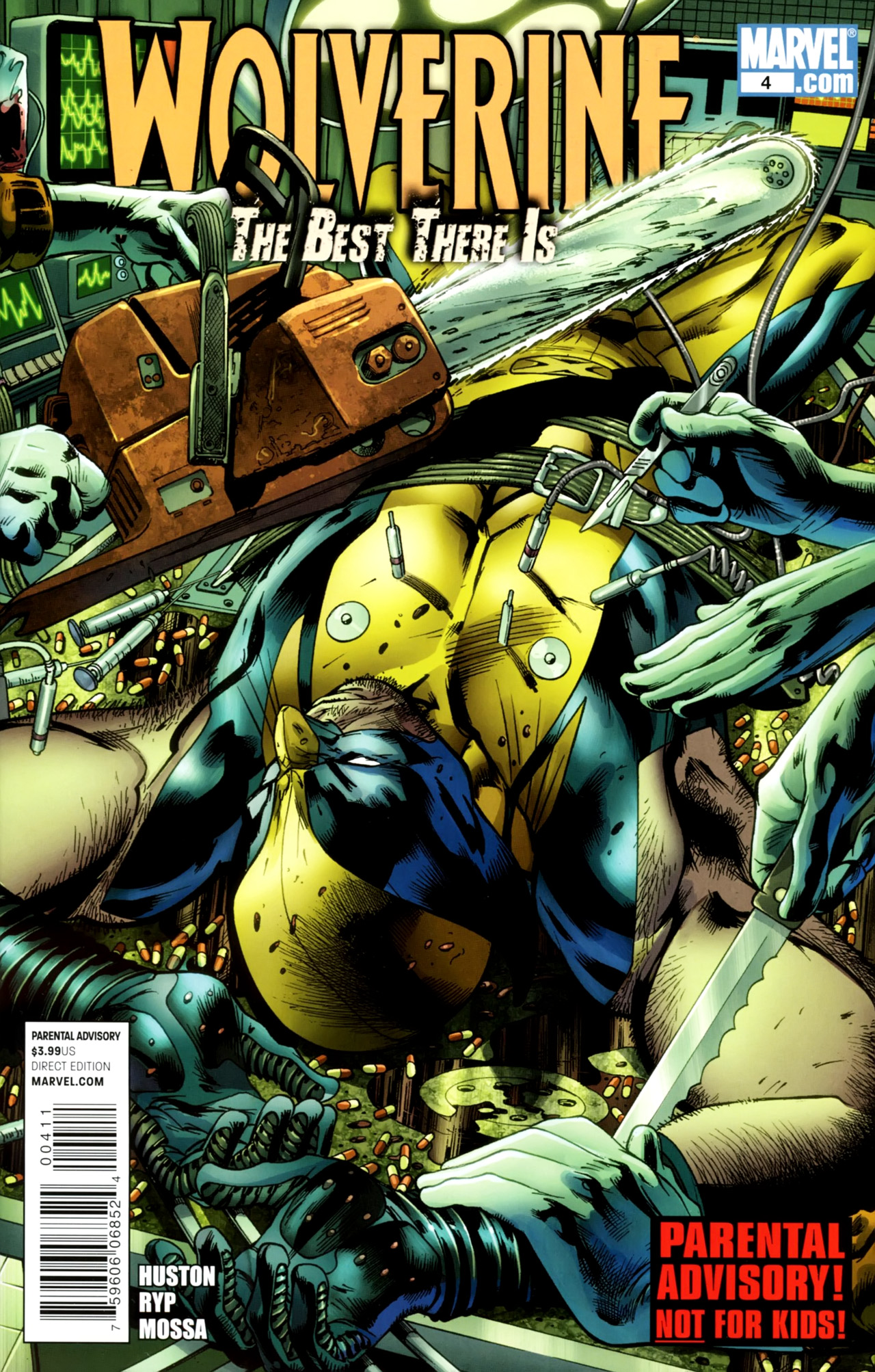 Read online Wolverine: The Best There Is comic -  Issue #4 - 1