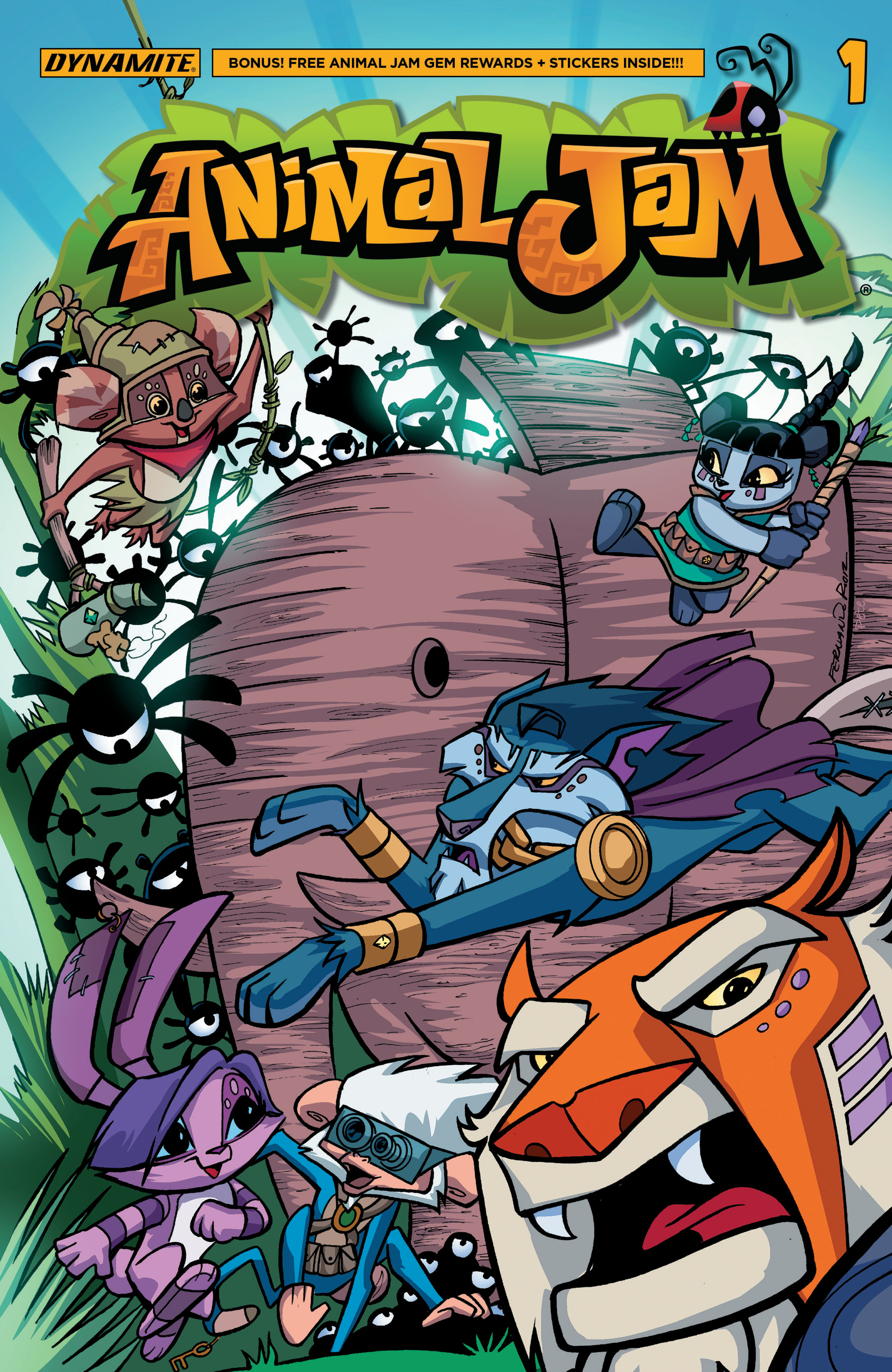 Read online Animal Jam comic -  Issue #1 - 1