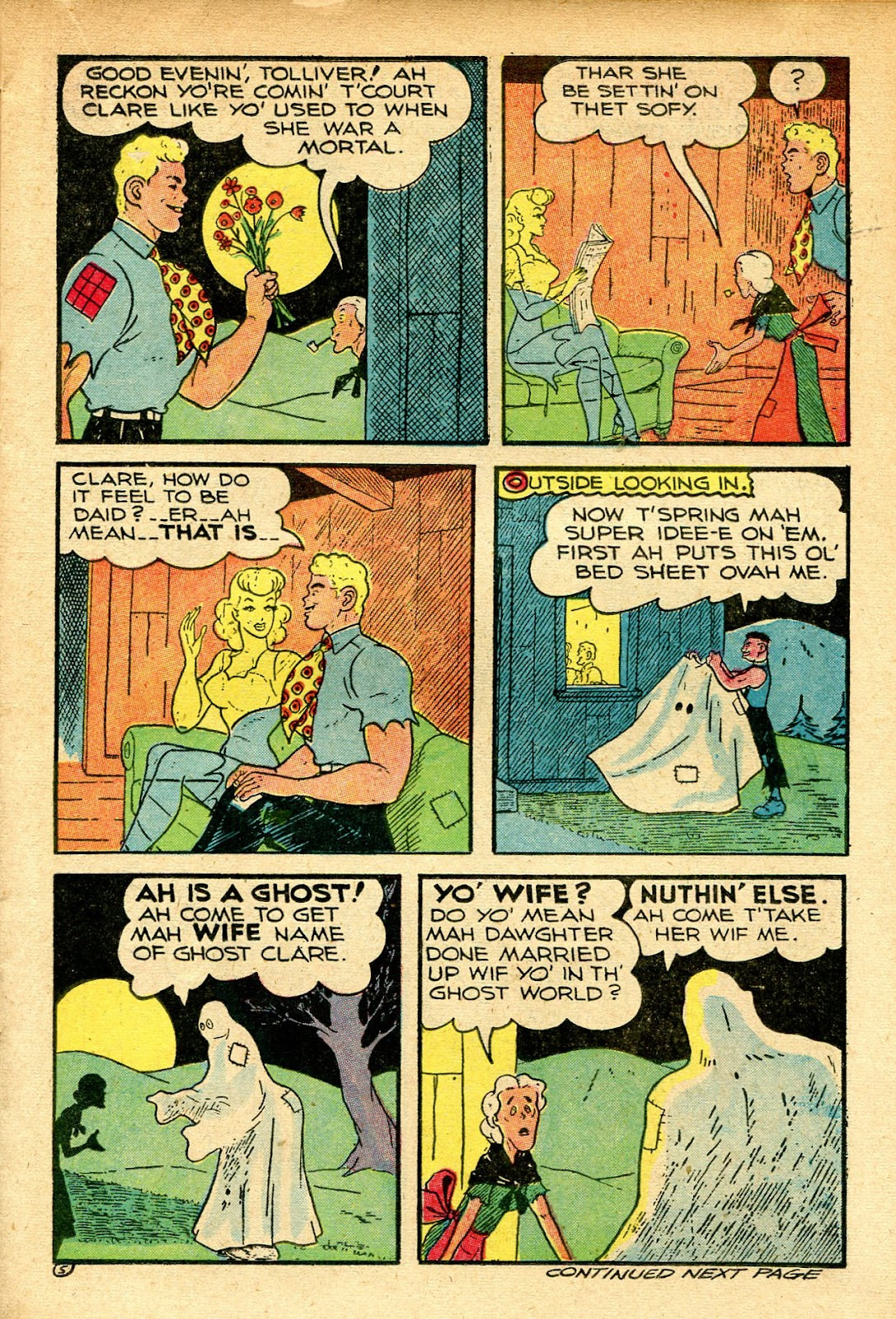 Read online Famous Funnies comic -  Issue #129 - 17
