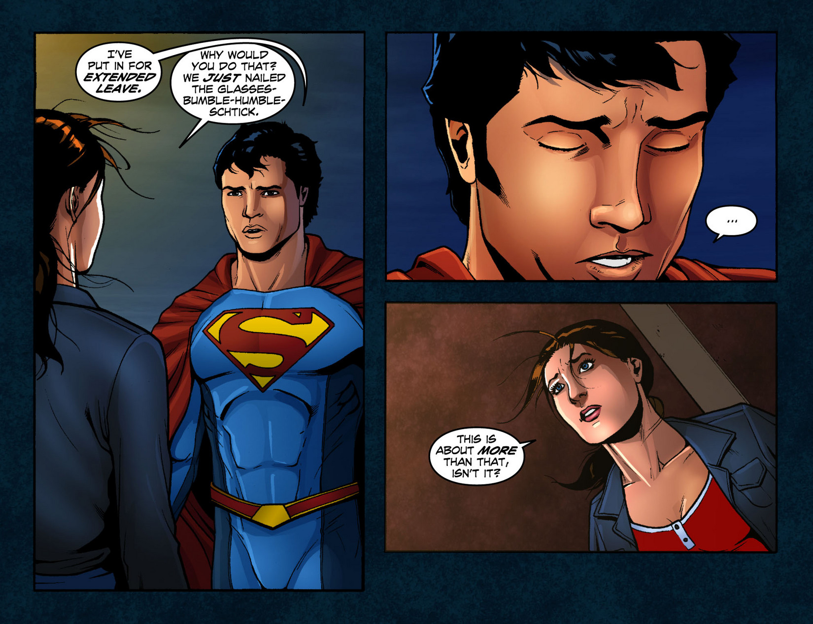 Read online Smallville: Season 11 comic -  Issue #12 - 12
