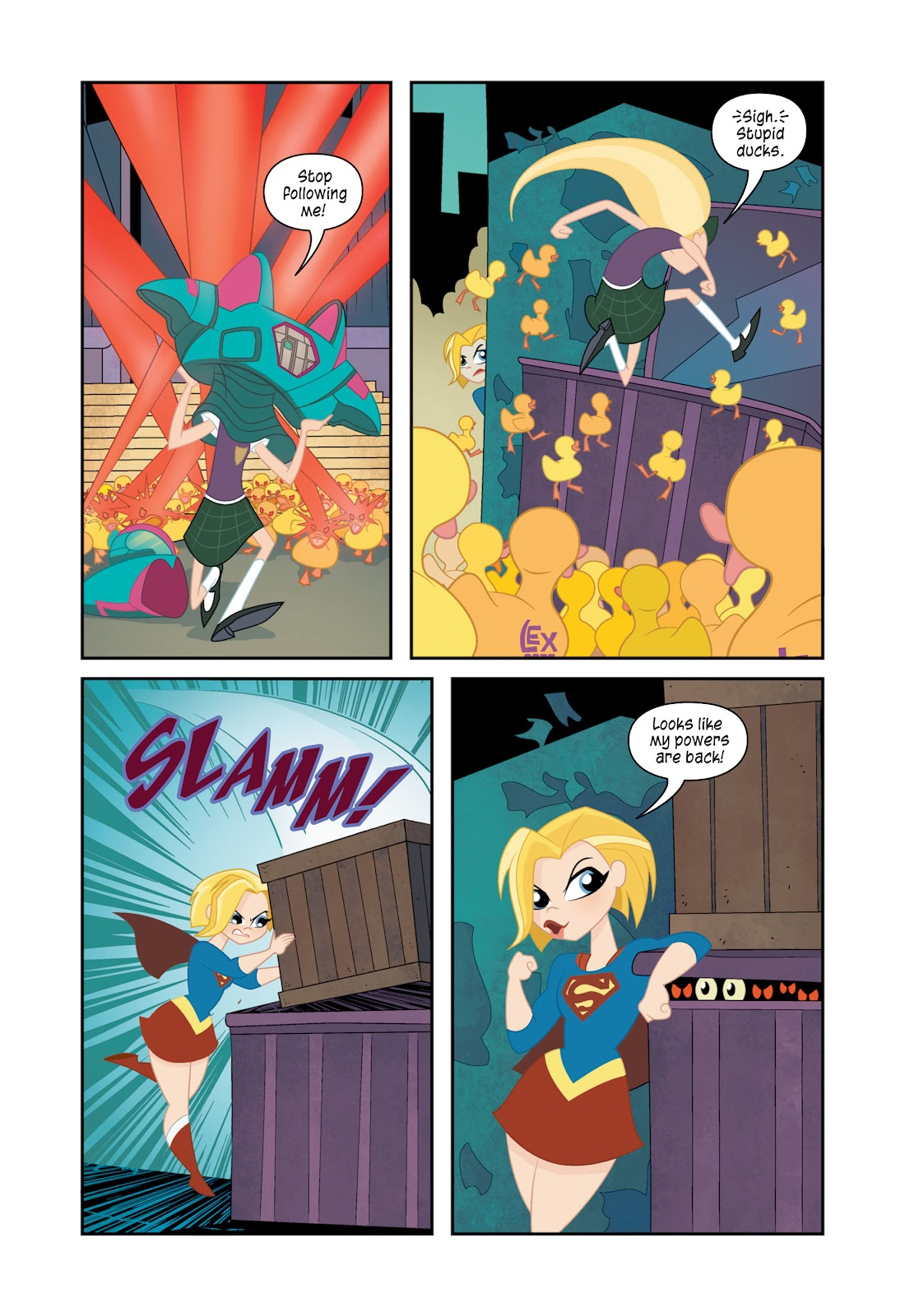 Read online DC Super Hero Girls: At Metropolis High comic -  Issue # TPB - 120