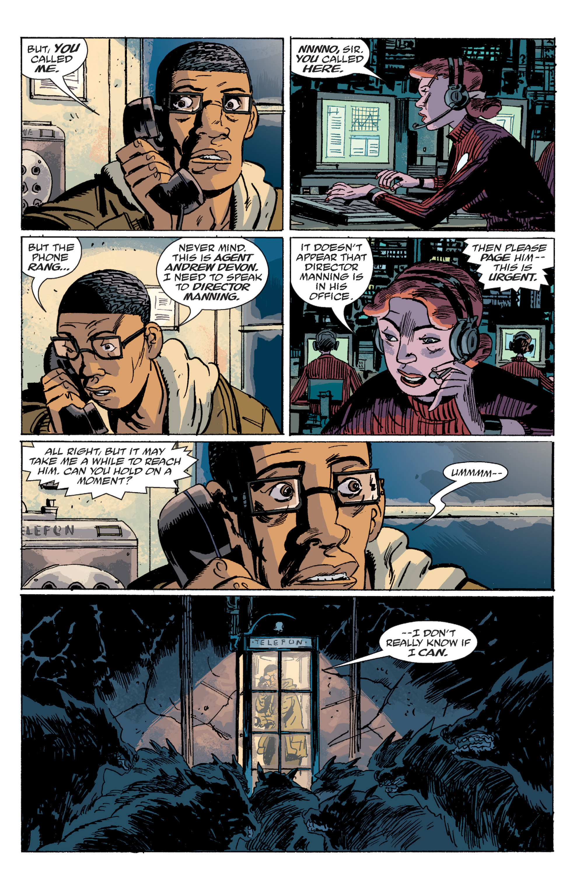 Read online B.P.R.D. (2003) comic -  Issue # TPB 6 - 110