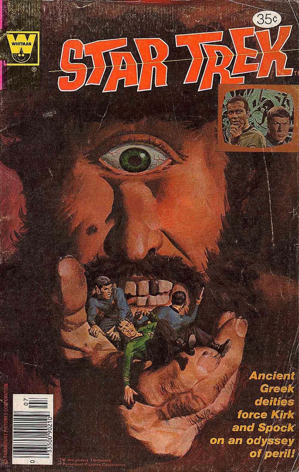 Star Trek (1967) issue 53 - Page 1